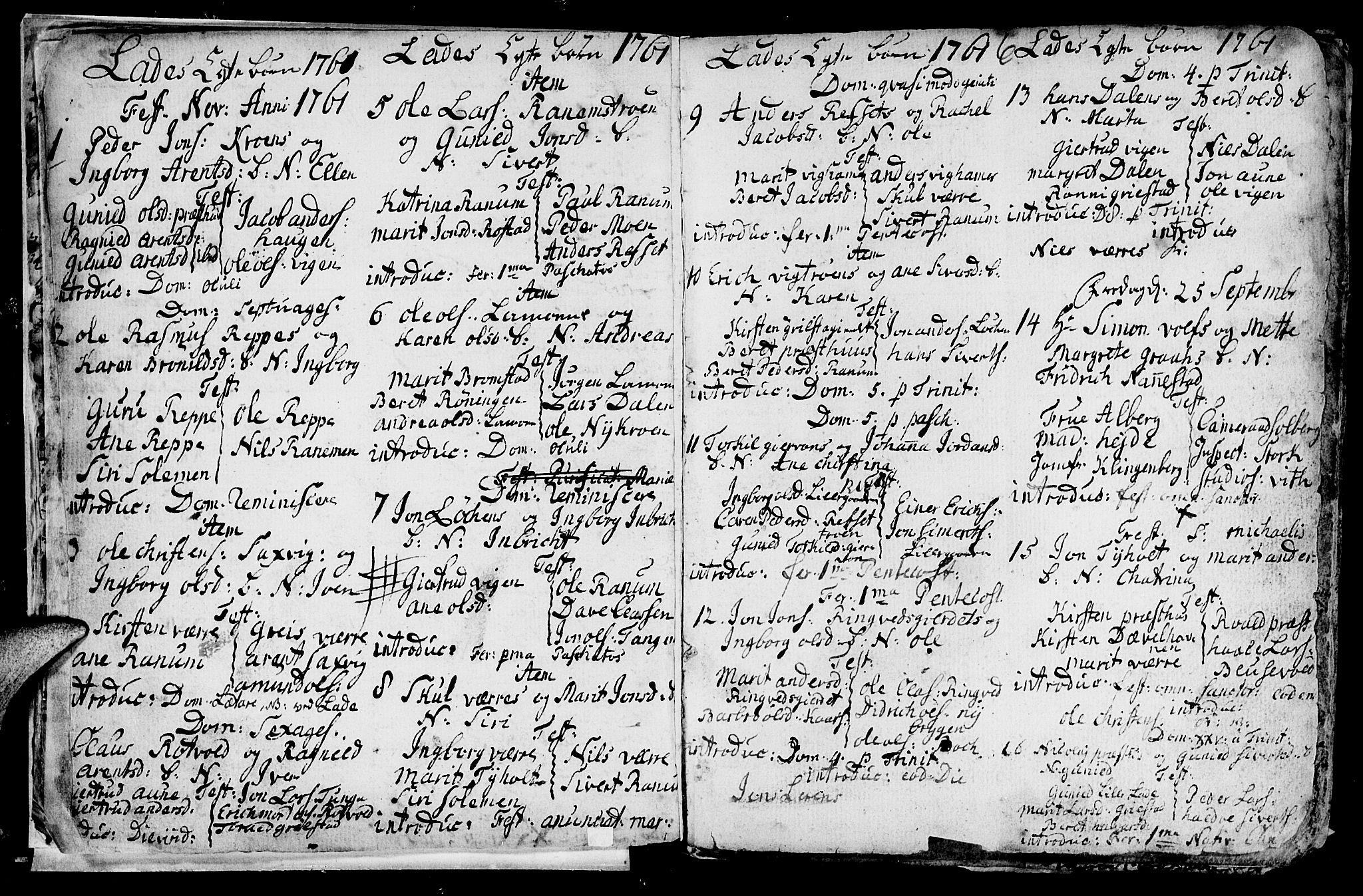 SAT, Ministerialprotokoller, klokkerbøker og fødselsregistre - Sør-Trøndelag, 606/L0305: Klokkerbok nr. 606C01, 1757-1819, s. 6