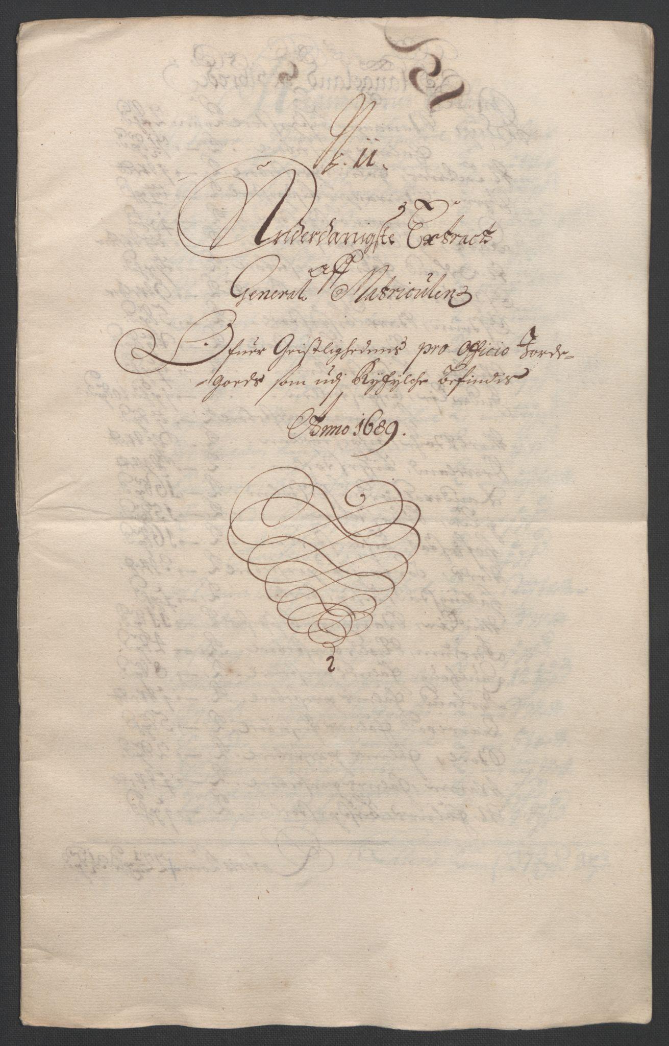 RA, Rentekammeret inntil 1814, Reviderte regnskaper, Fogderegnskap, R47/L2856: Fogderegnskap Ryfylke, 1689-1693, s. 91