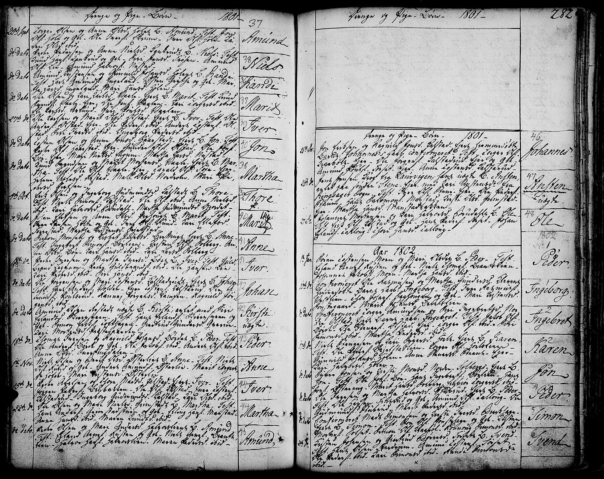 SAH, Gausdal prestekontor, Ministerialbok nr. 3, 1758-1809, s. 282