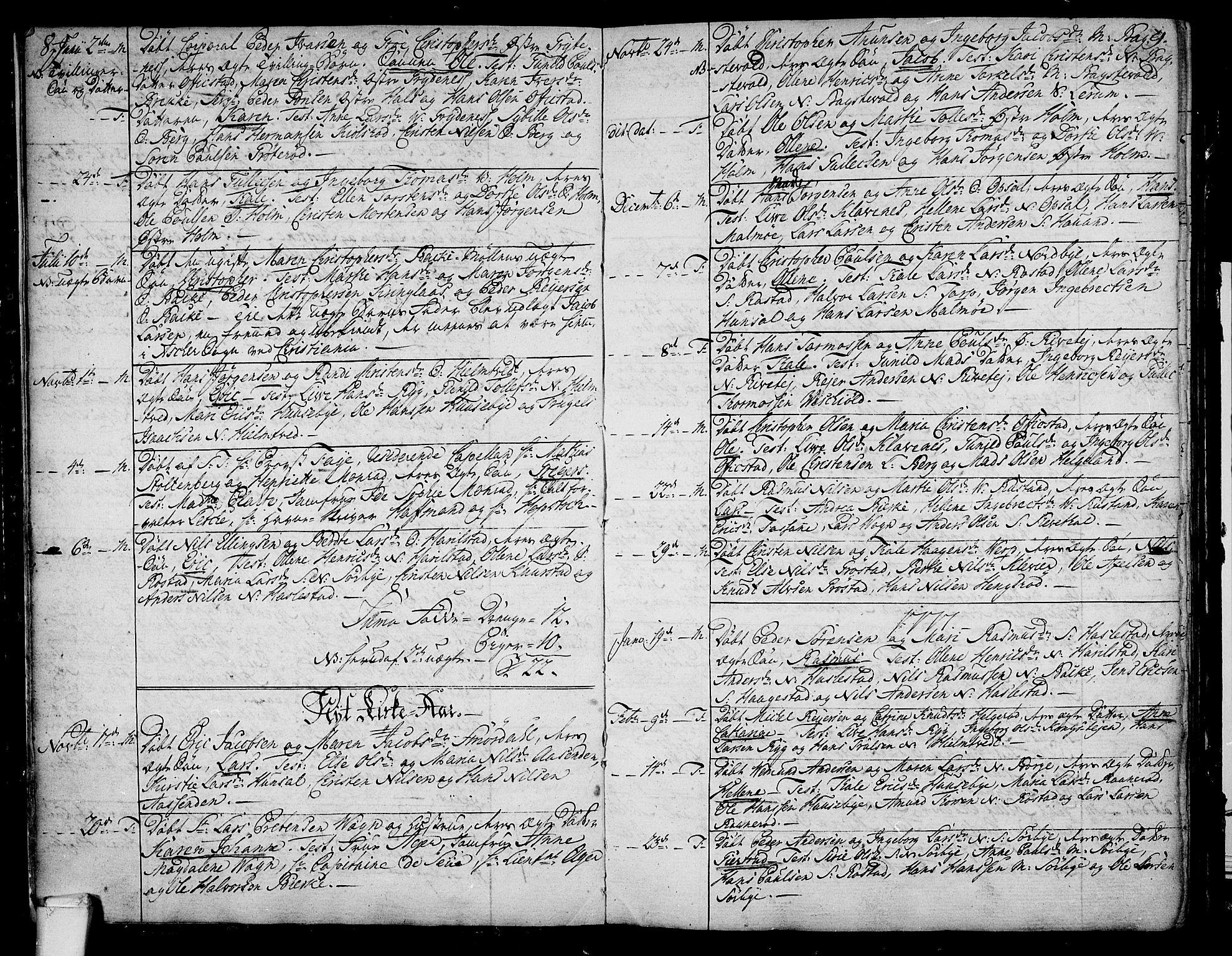 SAKO, Våle kirkebøker, F/Fa/L0005: Ministerialbok nr. I 5, 1773-1808, s. 8-9