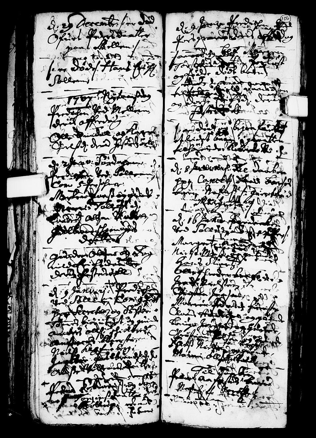 SAKO, Solum kirkebøker, F/Fa/L0001: Ministerialbok nr. I 1, 1701-1716, s. 106
