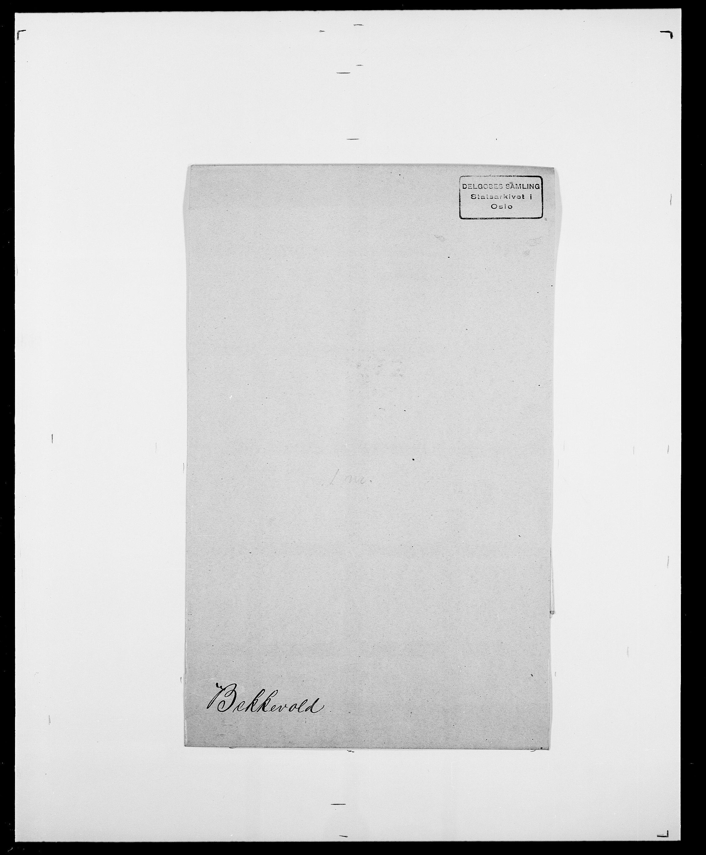 SAO, Delgobe, Charles Antoine - samling, D/Da/L0003: Barca - Bergen, s. 714