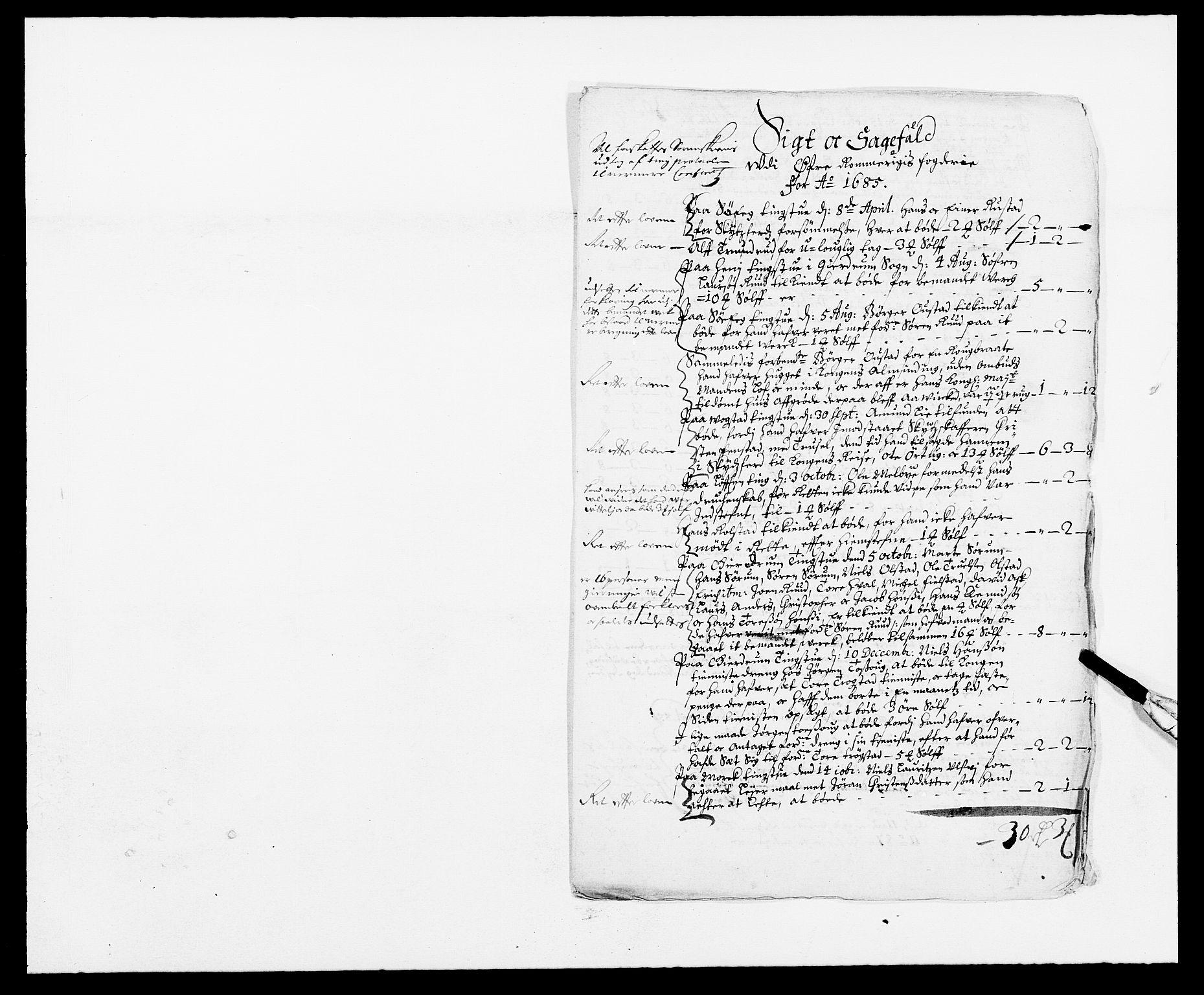 RA, Rentekammeret inntil 1814, Reviderte regnskaper, Fogderegnskap, R12/L0699: Fogderegnskap Øvre Romerike, 1685-1686, s. 50