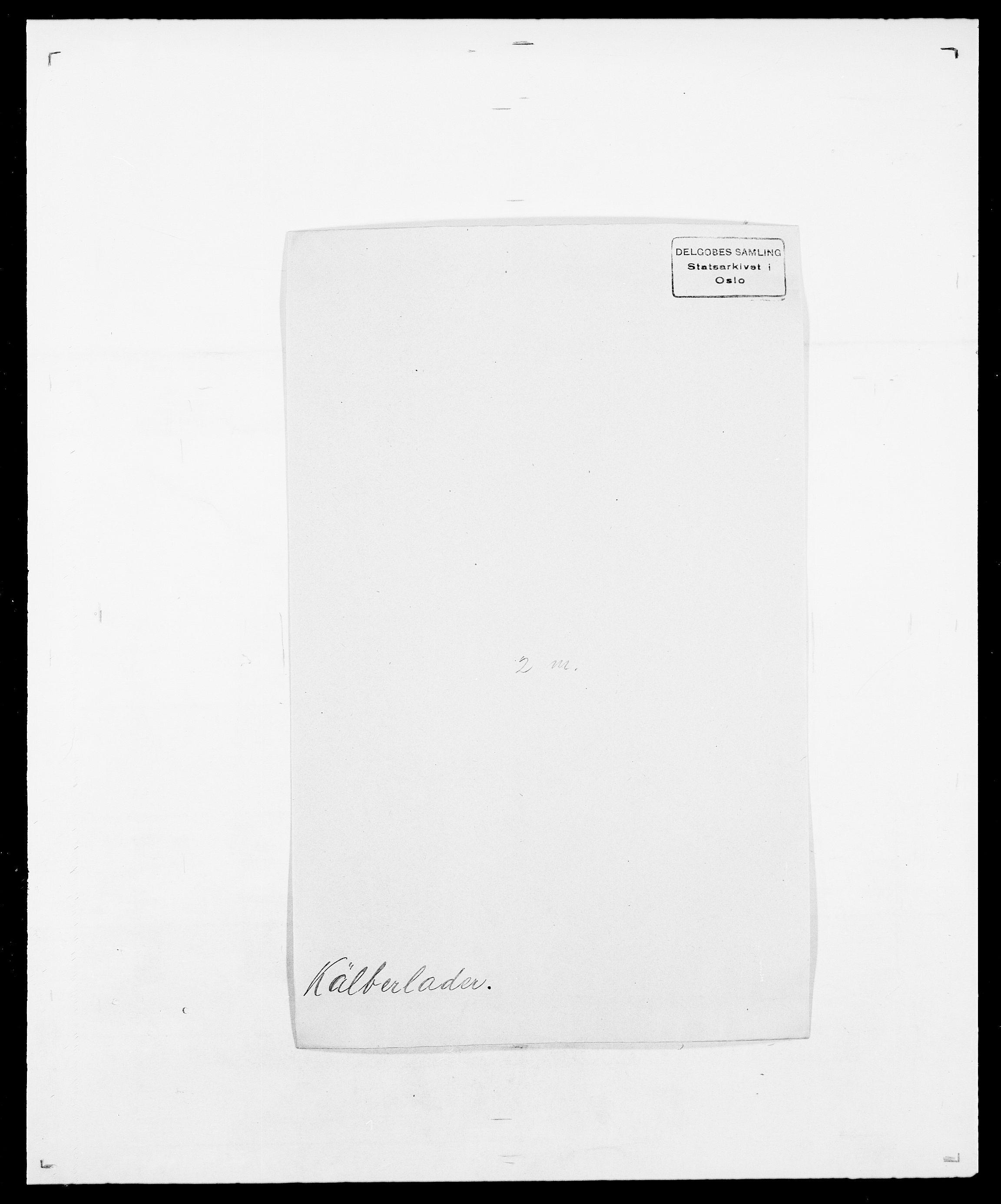 SAO, Delgobe, Charles Antoine - samling, D/Da/L0022: Krog - Lasteen, s. 283