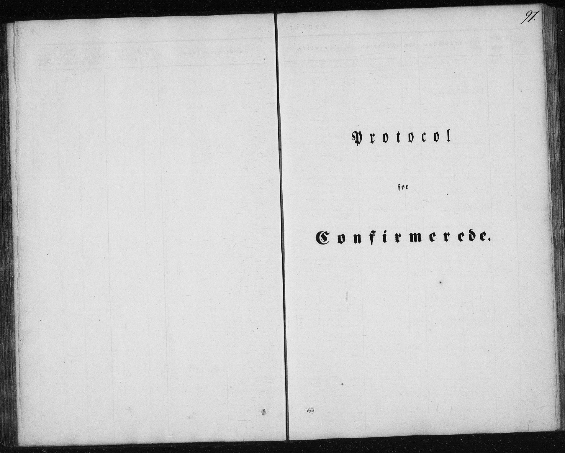 SAT, Ministerialprotokoller, klokkerbøker og fødselsregistre - Nordland, 827/L0391: Ministerialbok nr. 827A03, 1842-1852, s. 97