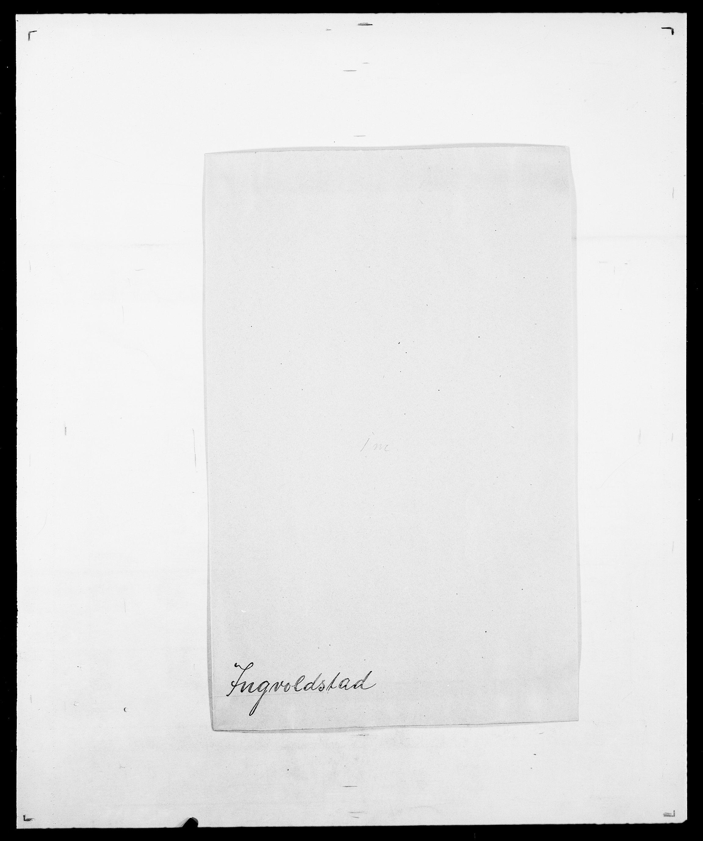 SAO, Delgobe, Charles Antoine - samling, D/Da/L0019: van der Hude - Joys, s. 801