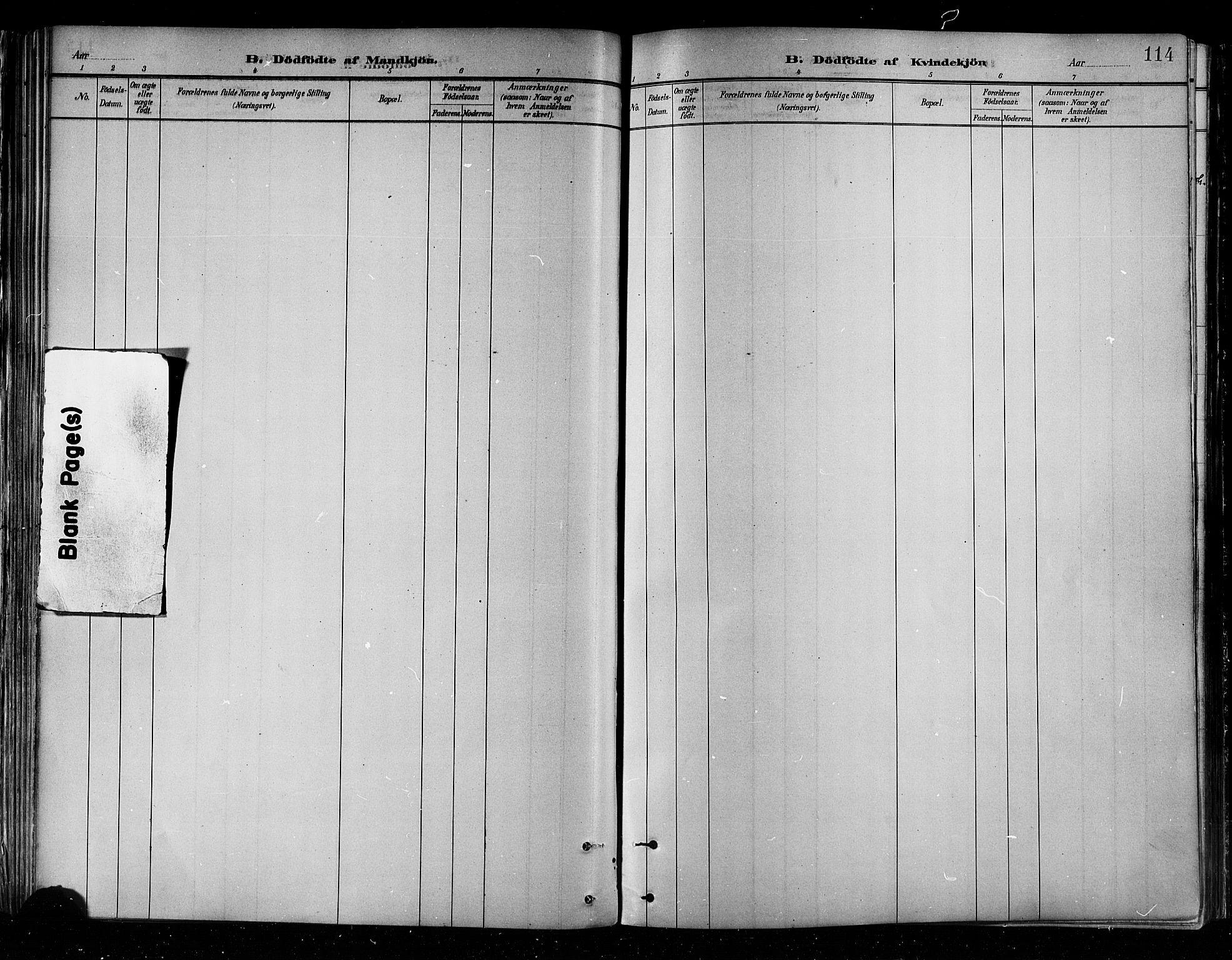 SATØ, Skjervøy sokneprestkontor, H/Ha/Haa/L0010kirke: Ministerialbok nr. 10, 1887-1898, s. 114