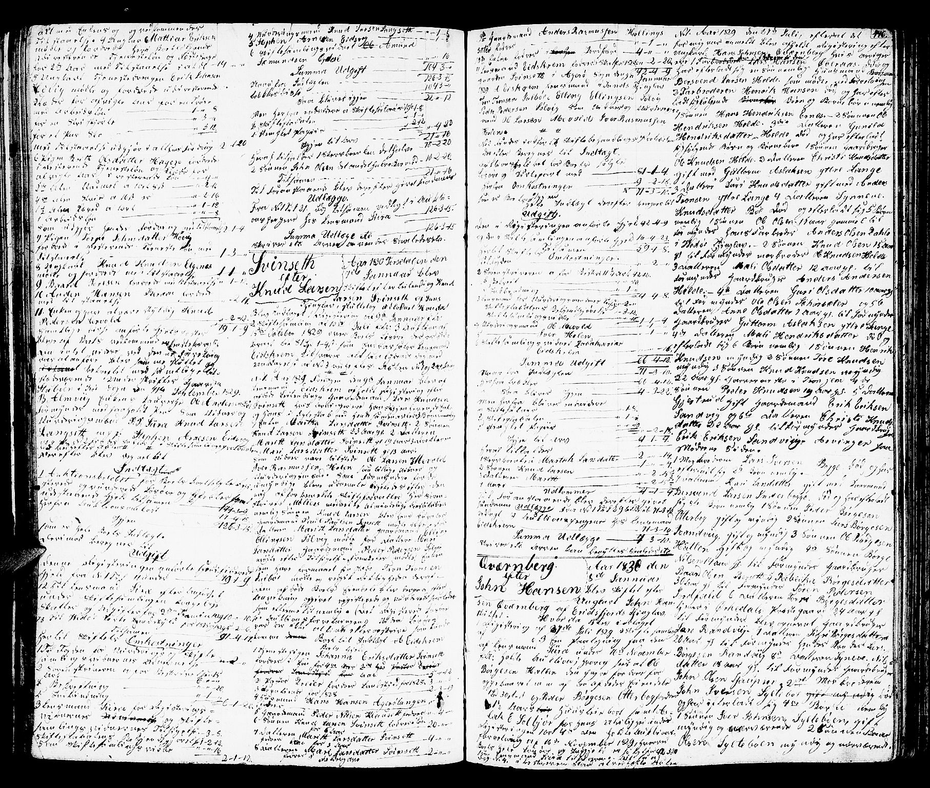 SAT, Romsdal sorenskriveri, 3/3A/L0016: Skifteutlodnings Protokoll 2, 1823-1831, s. 446