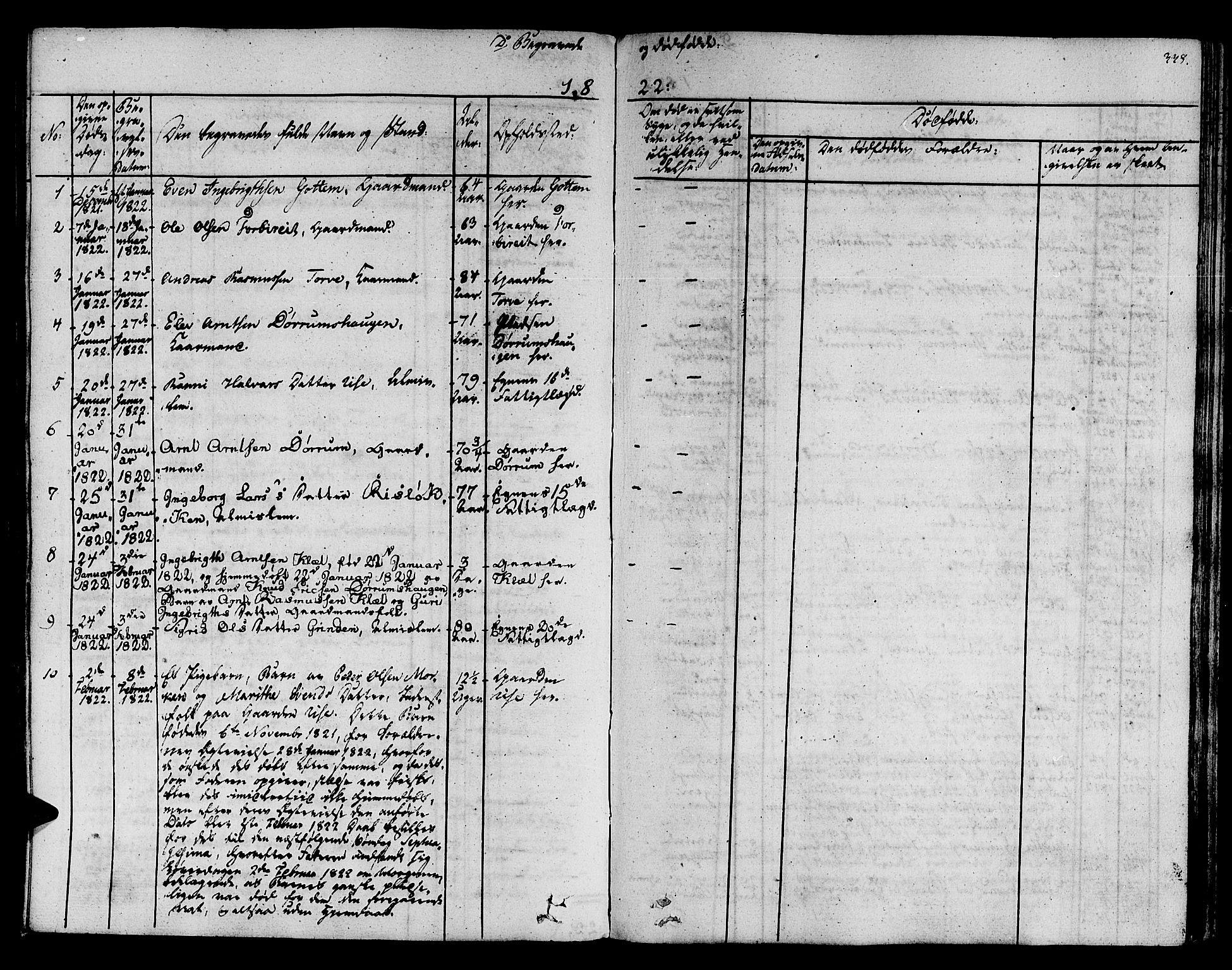 SAT, Ministerialprotokoller, klokkerbøker og fødselsregistre - Sør-Trøndelag, 678/L0897: Ministerialbok nr. 678A06-07, 1821-1847, s. 338