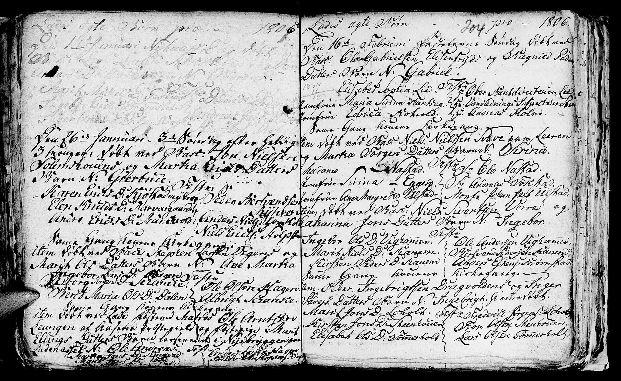 SAT, Ministerialprotokoller, klokkerbøker og fødselsregistre - Sør-Trøndelag, 606/L0305: Klokkerbok nr. 606C01, 1757-1819, s. 204