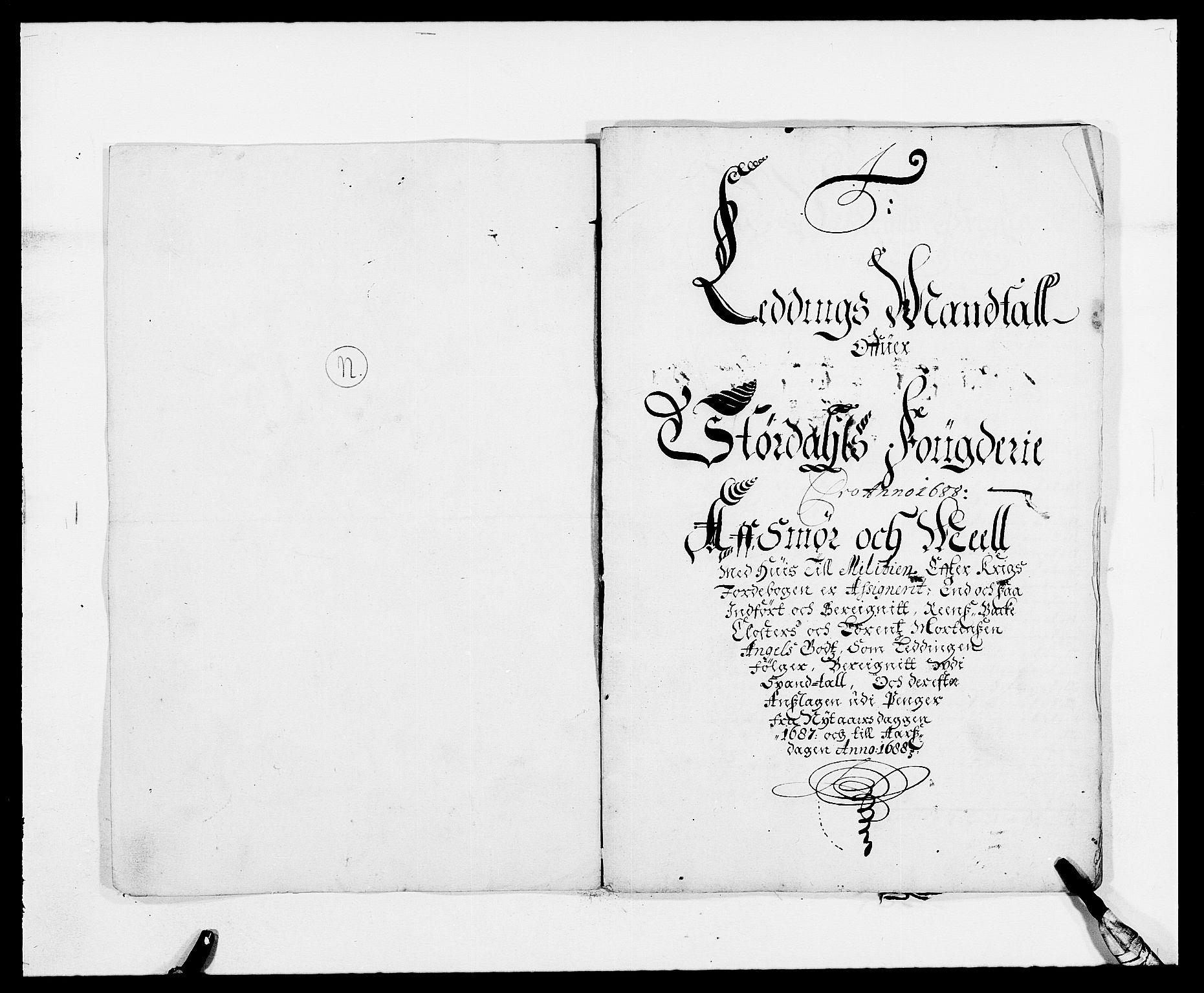 RA, Rentekammeret inntil 1814, Reviderte regnskaper, Fogderegnskap, R62/L4183: Fogderegnskap Stjørdal og Verdal, 1687-1689, s. 257