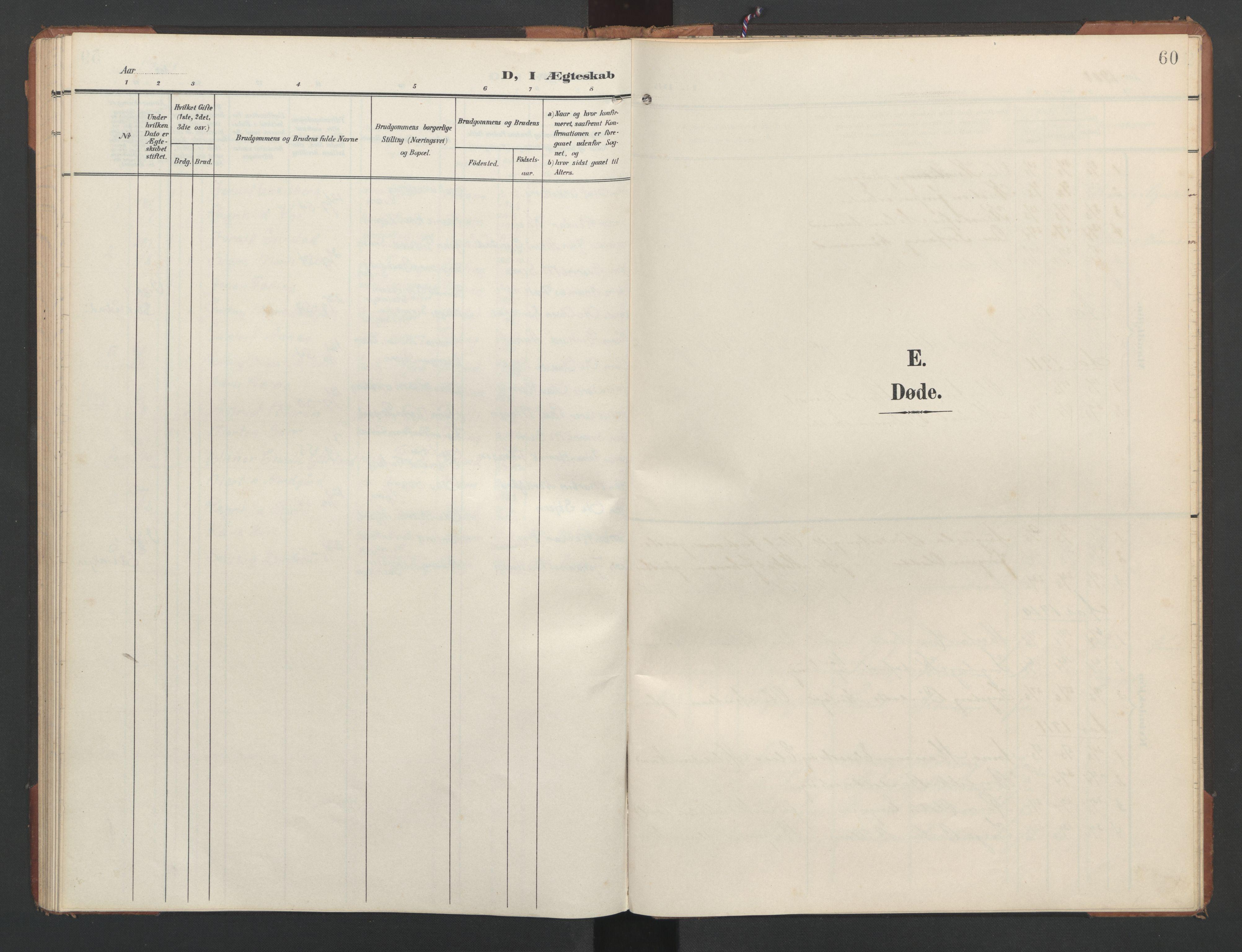 SAT, Ministerialprotokoller, klokkerbøker og fødselsregistre - Nord-Trøndelag, 748/L0465: Klokkerbok nr. 748C01, 1908-1960, s. 60