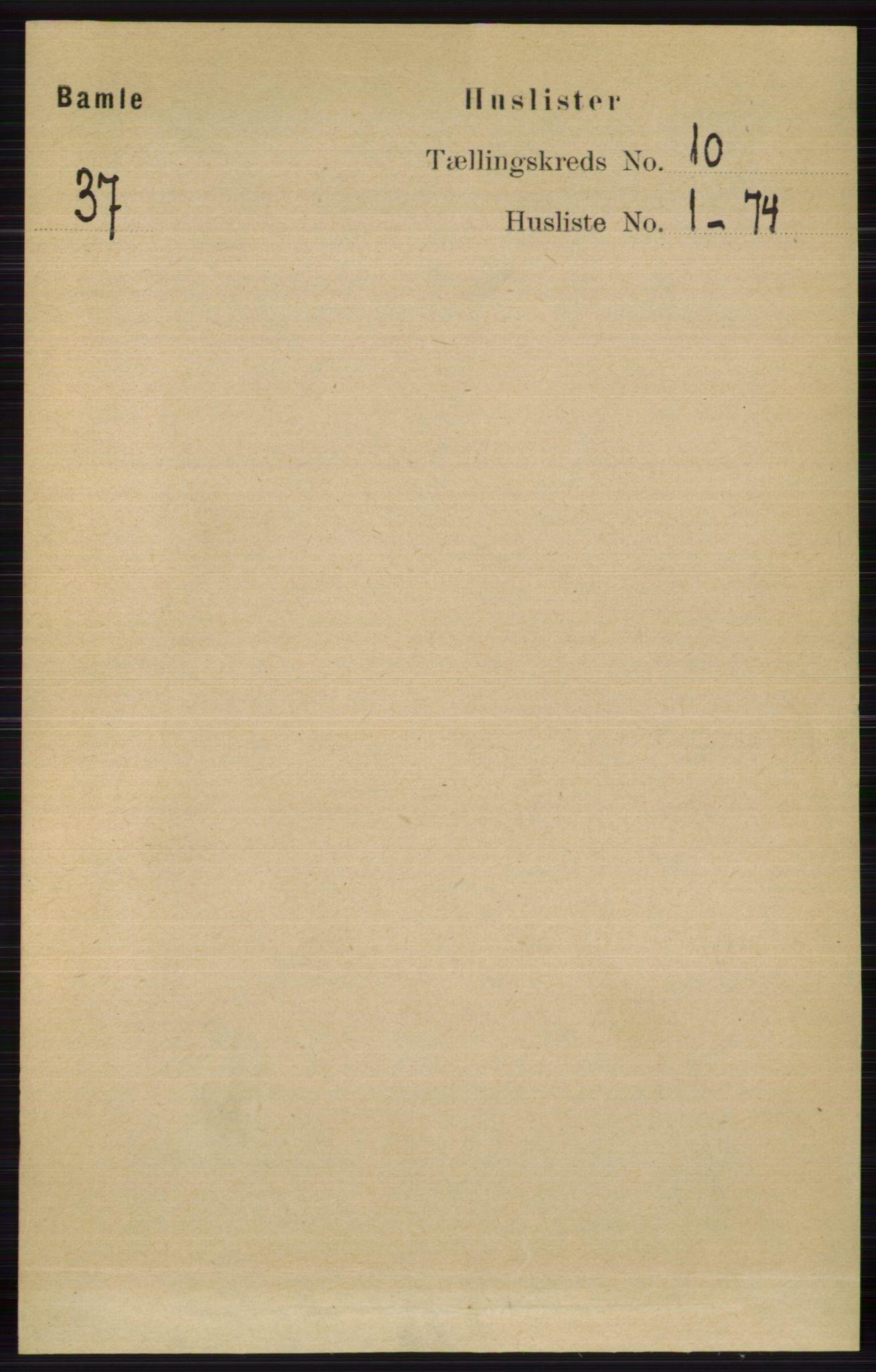 RA, Folketelling 1891 for 0814 Bamble herred, 1891, s. 5702