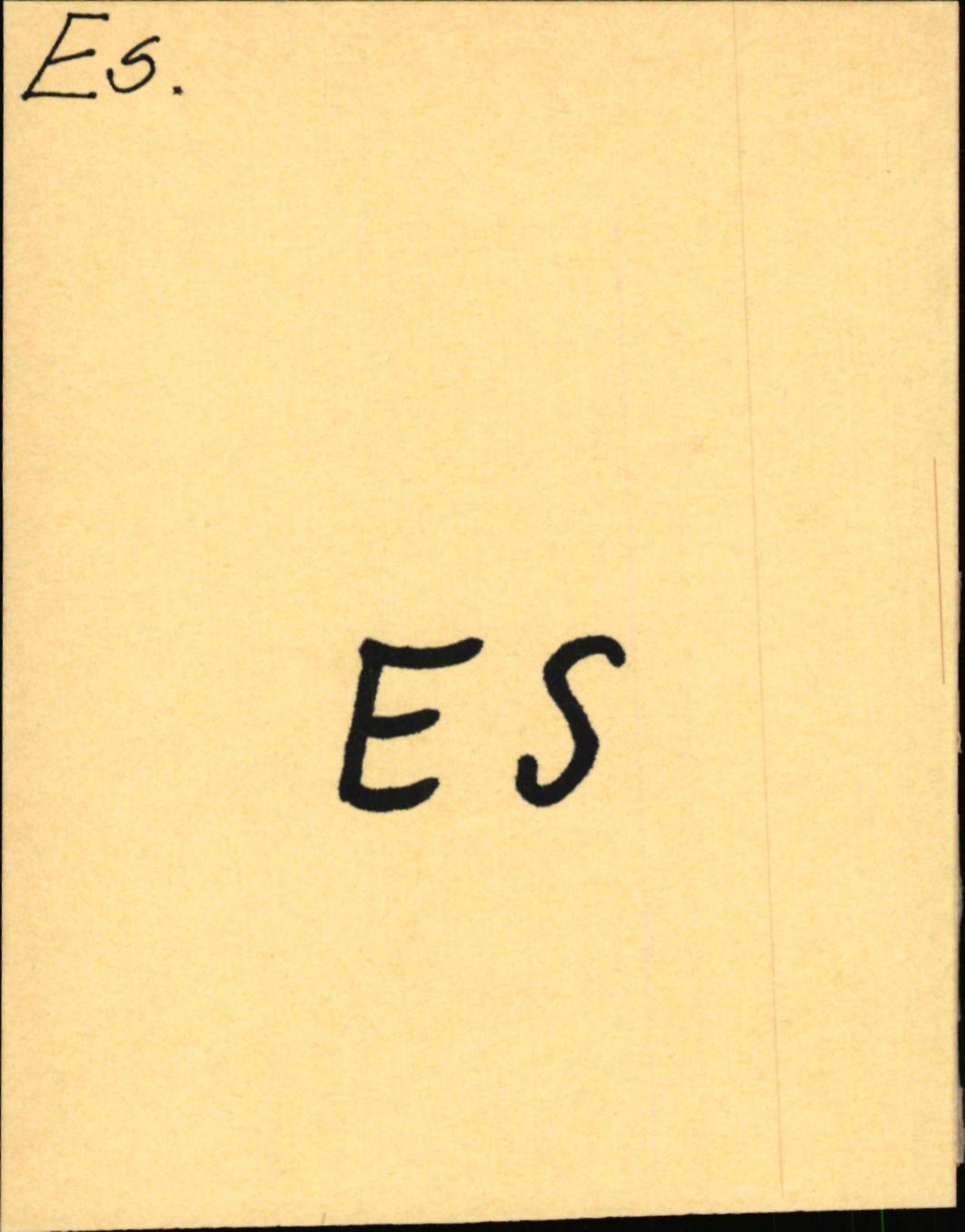 SAB, Statens vegvesen, Hordaland vegkontor, Ha/L0012: R-eierkort E-F, 1920-1971, s. 1