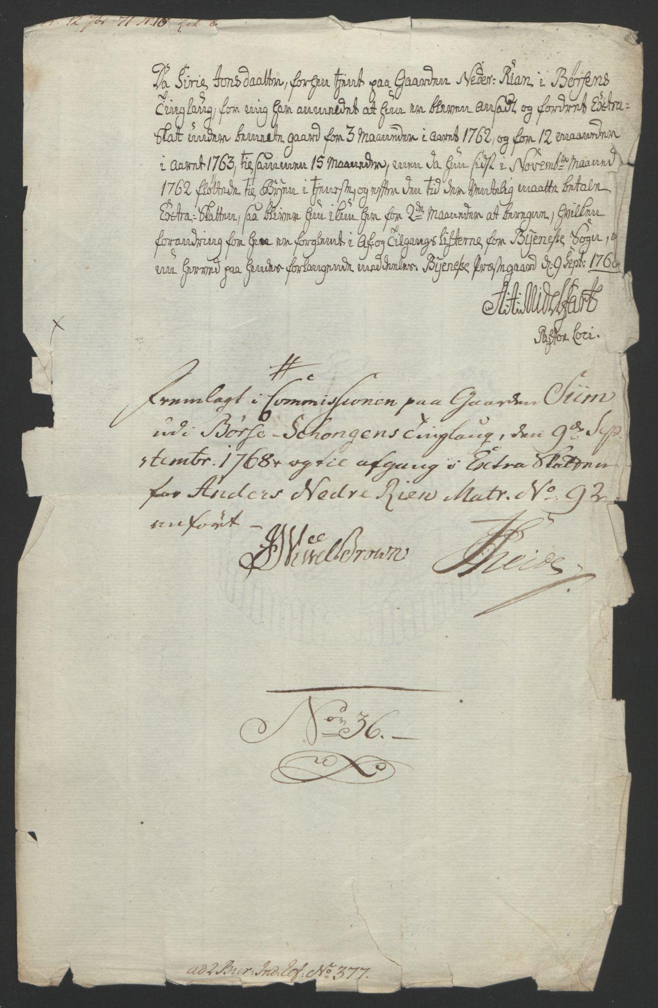 RA, Rentekammeret inntil 1814, Reviderte regnskaper, Fogderegnskap, R61/L4180: Ekstraskatten Strinda og Selbu, 1762-1767, s. 284