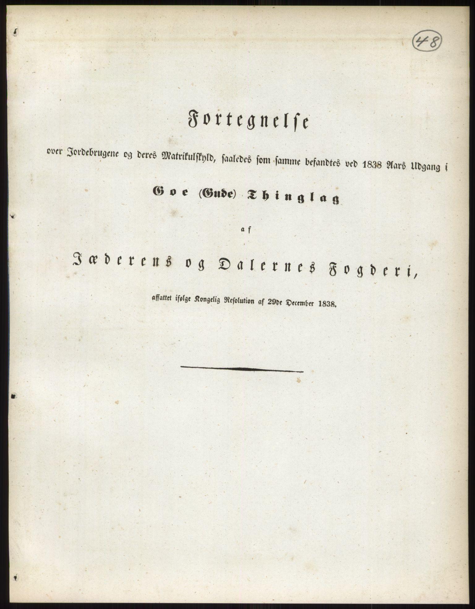 RA, 1838-matrikkelen (publikasjon)*, 1838, s. 48