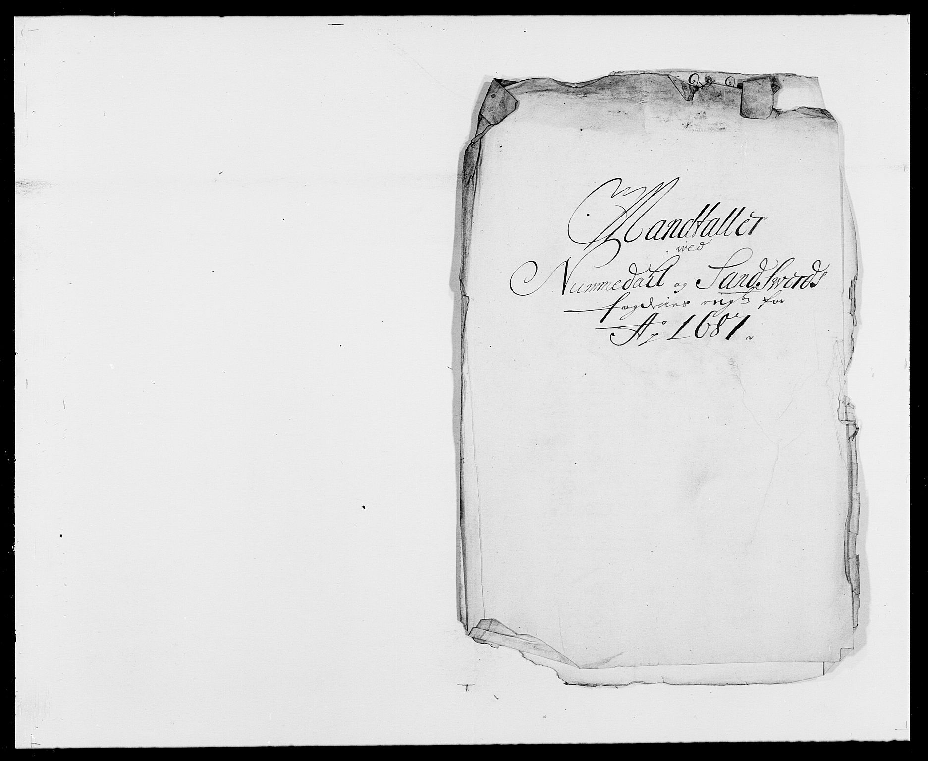 RA, Rentekammeret inntil 1814, Reviderte regnskaper, Fogderegnskap, R24/L1573: Fogderegnskap Numedal og Sandsvær, 1687-1691, s. 7