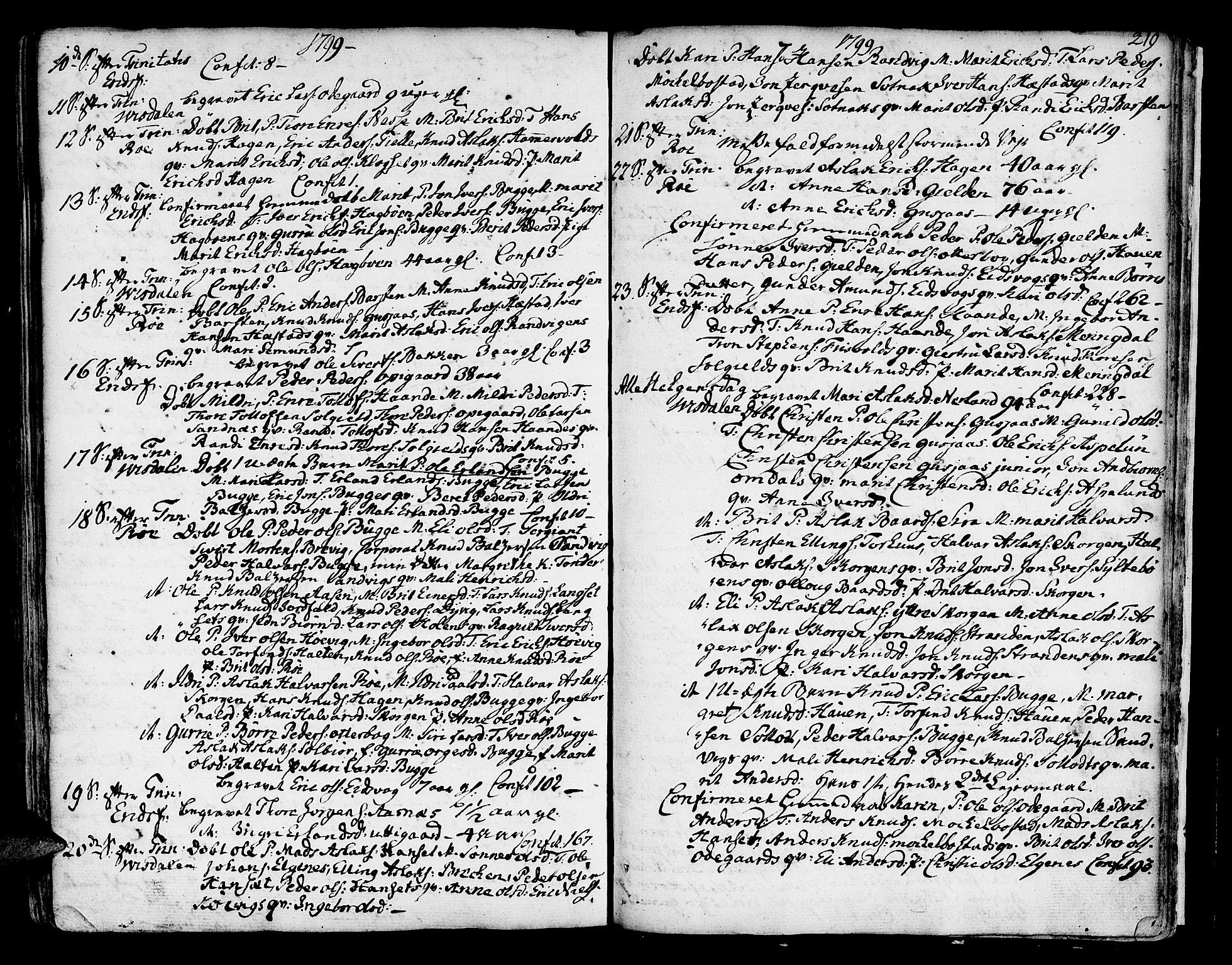 SAT, Ministerialprotokoller, klokkerbøker og fødselsregistre - Møre og Romsdal, 551/L0621: Ministerialbok nr. 551A01, 1757-1803, s. 219