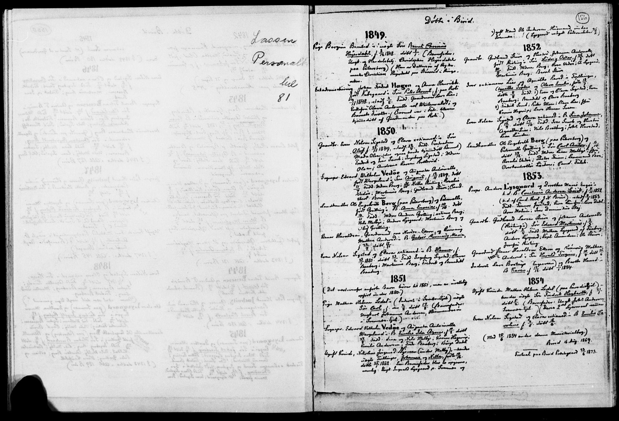 SAH, Biri prestekontor, Ministerialbok, 1730-1879, s. 156