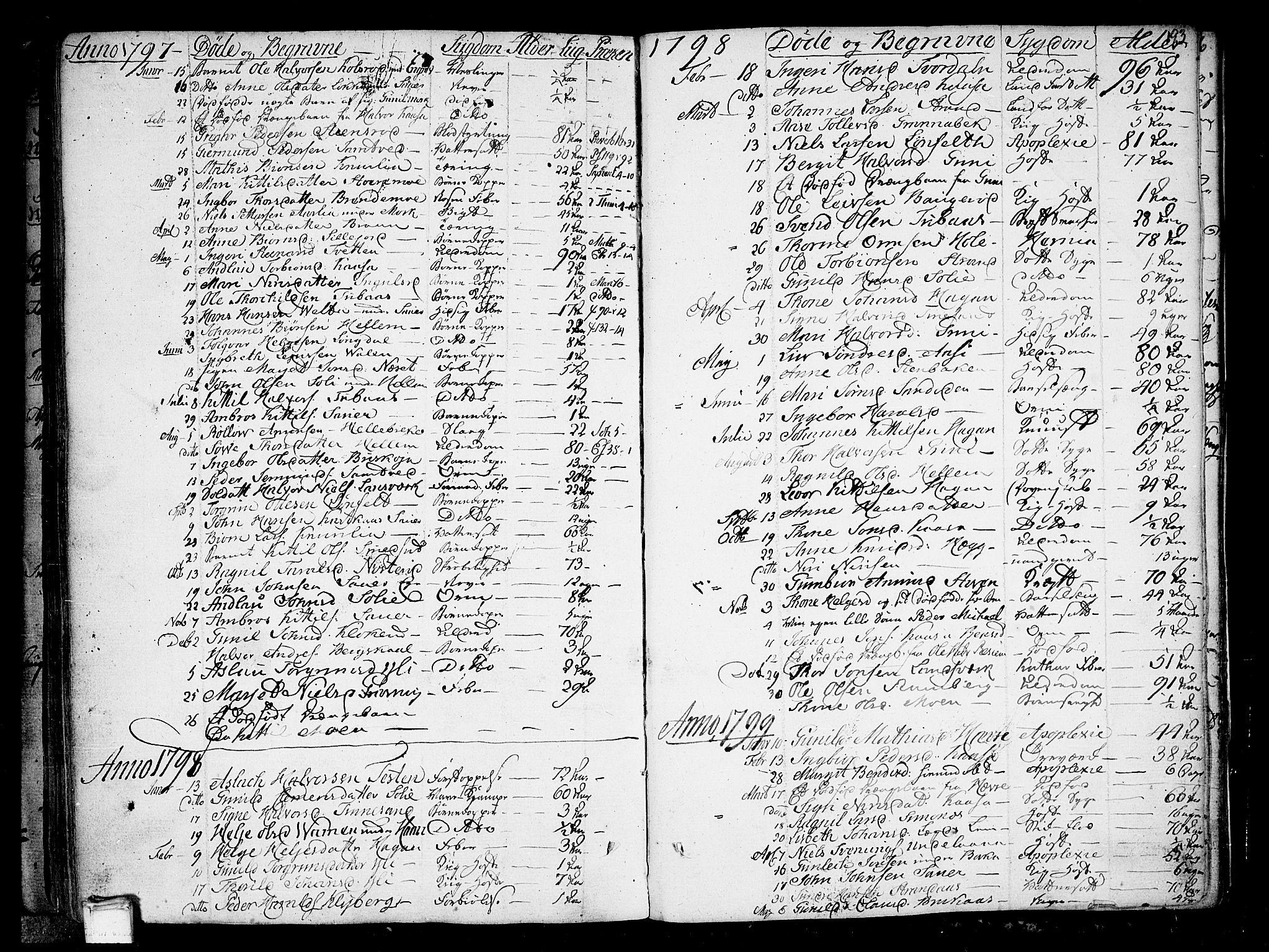 SAKO, Heddal kirkebøker, F/Fa/L0004: Ministerialbok nr. I 4, 1784-1814, s. 193