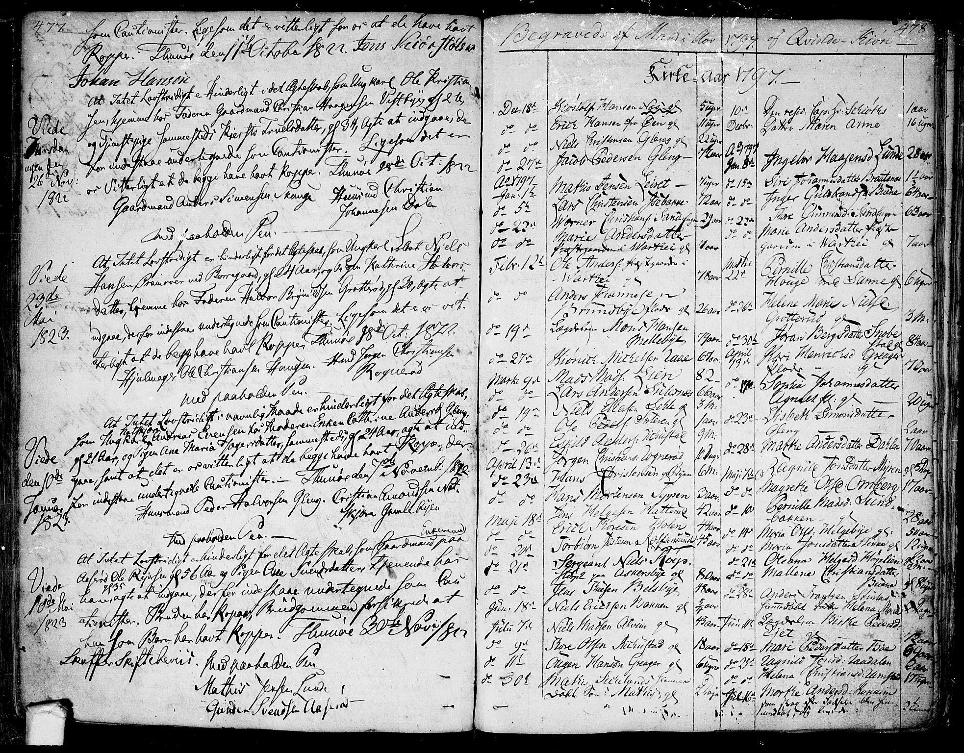SAO, Tune prestekontor Kirkebøker, F/Fa/L0004: Ministerialbok nr. 4, 1797-1815, s. 477-478