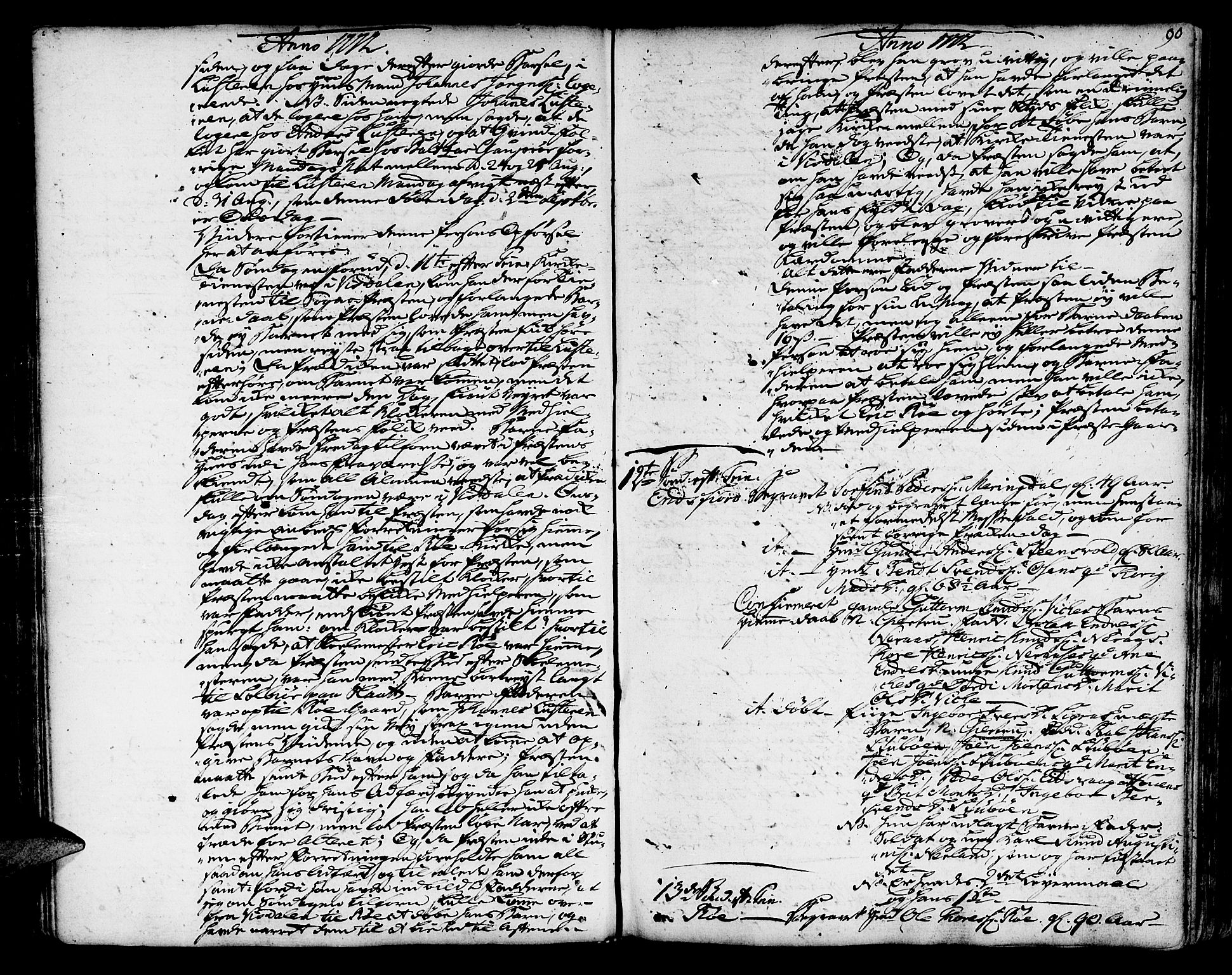 SAT, Ministerialprotokoller, klokkerbøker og fødselsregistre - Møre og Romsdal, 551/L0621: Ministerialbok nr. 551A01, 1757-1803, s. 90