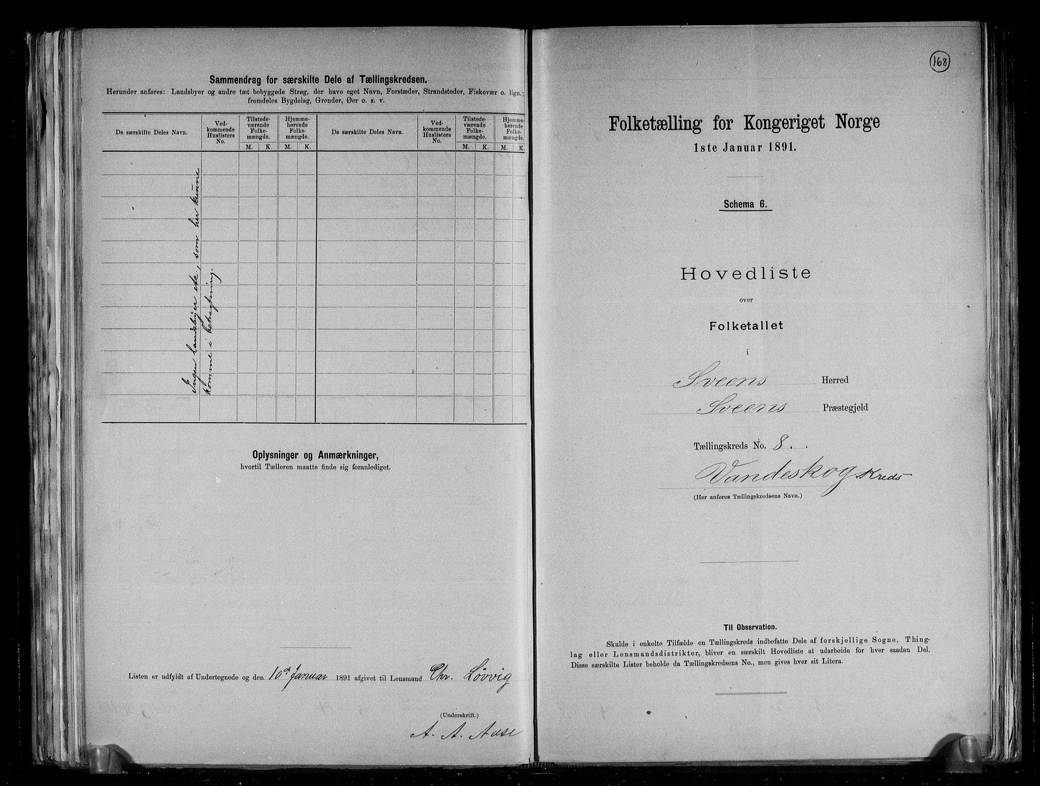 RA, Folketelling 1891 for 1216 Sveio herred, 1891, s. 18