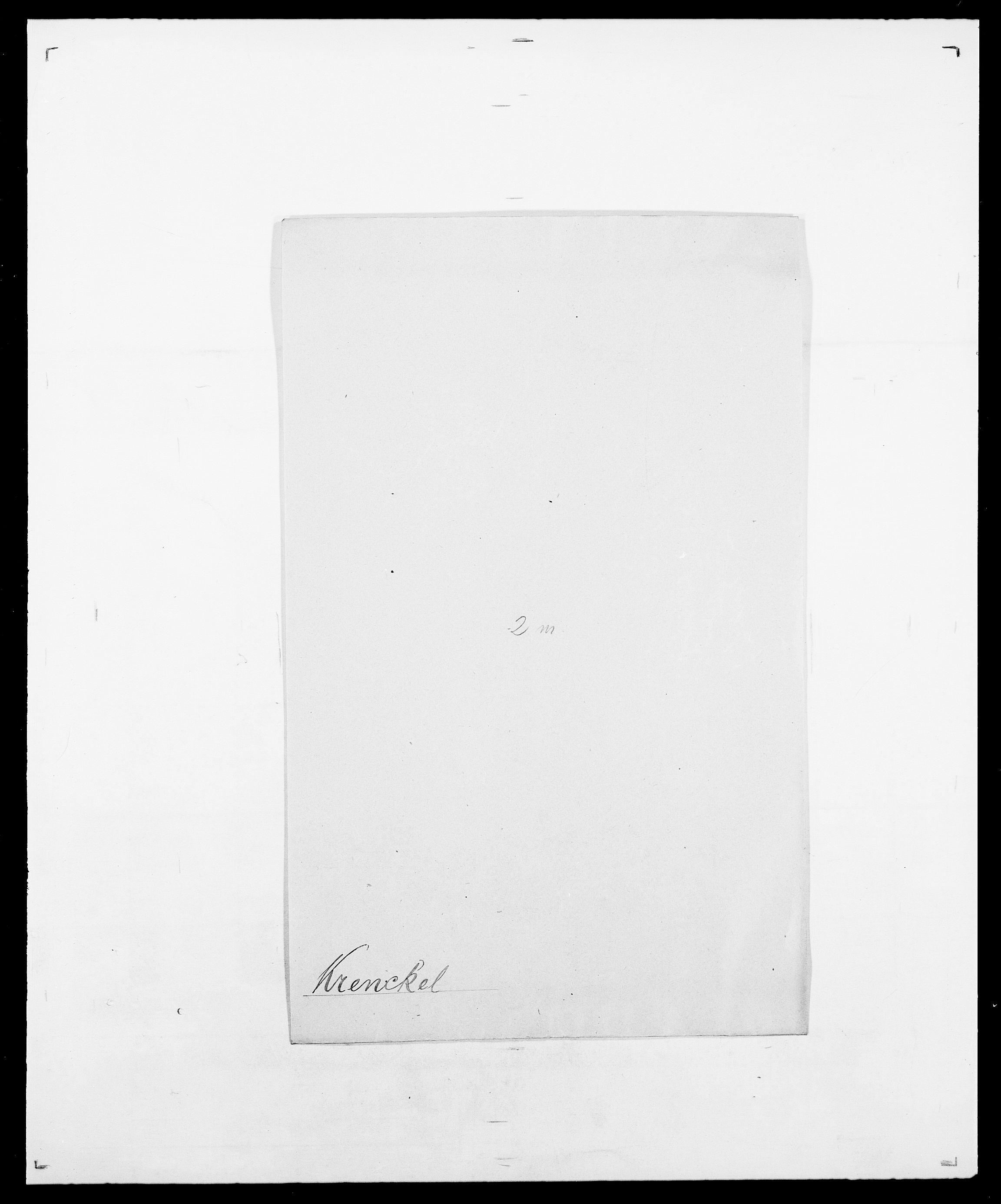 SAO, Delgobe, Charles Antoine - samling, D/Da/L0021: Klagenberg - Kristoft, s. 776