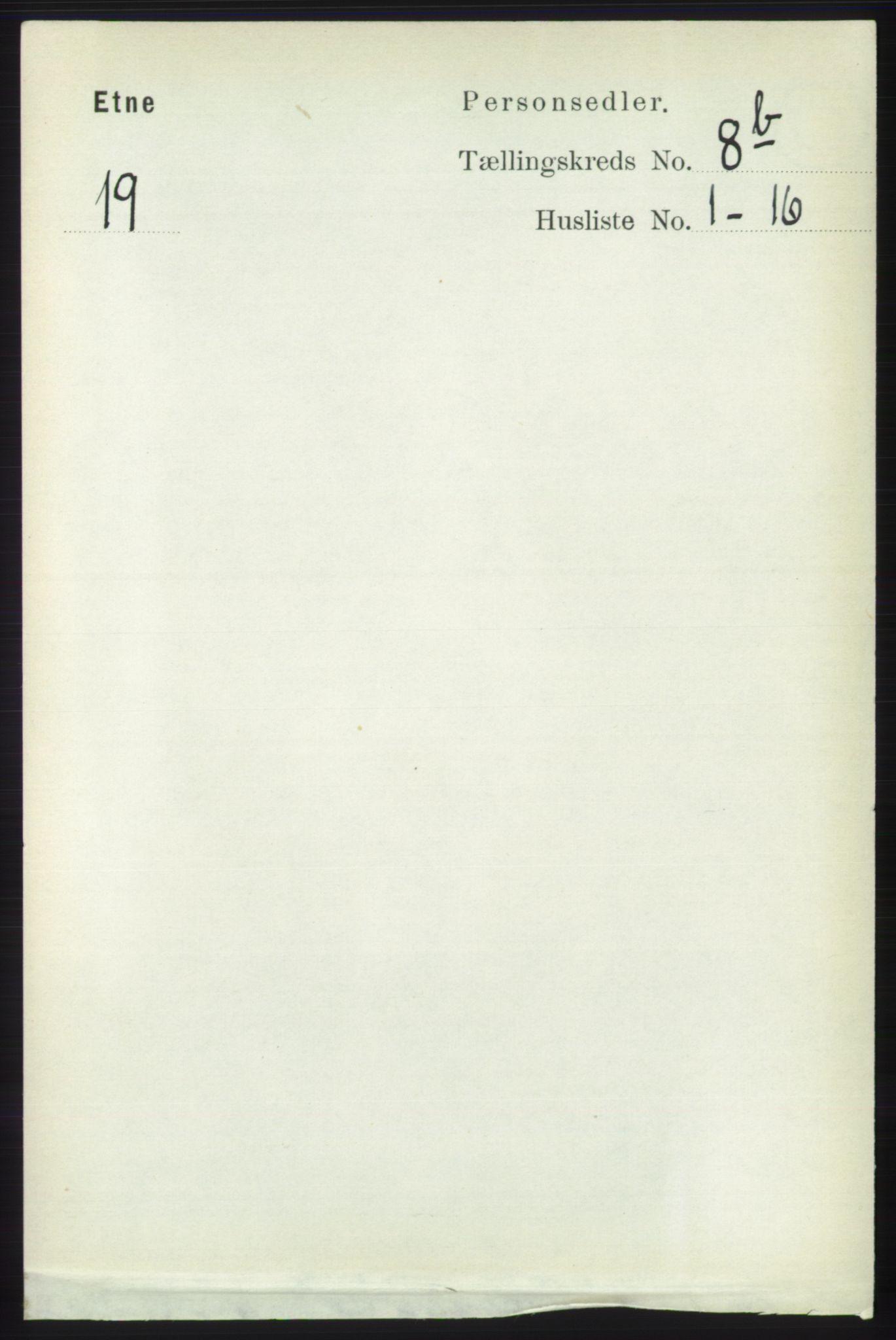 RA, Folketelling 1891 for 1211 Etne herred, 1891, s. 1616