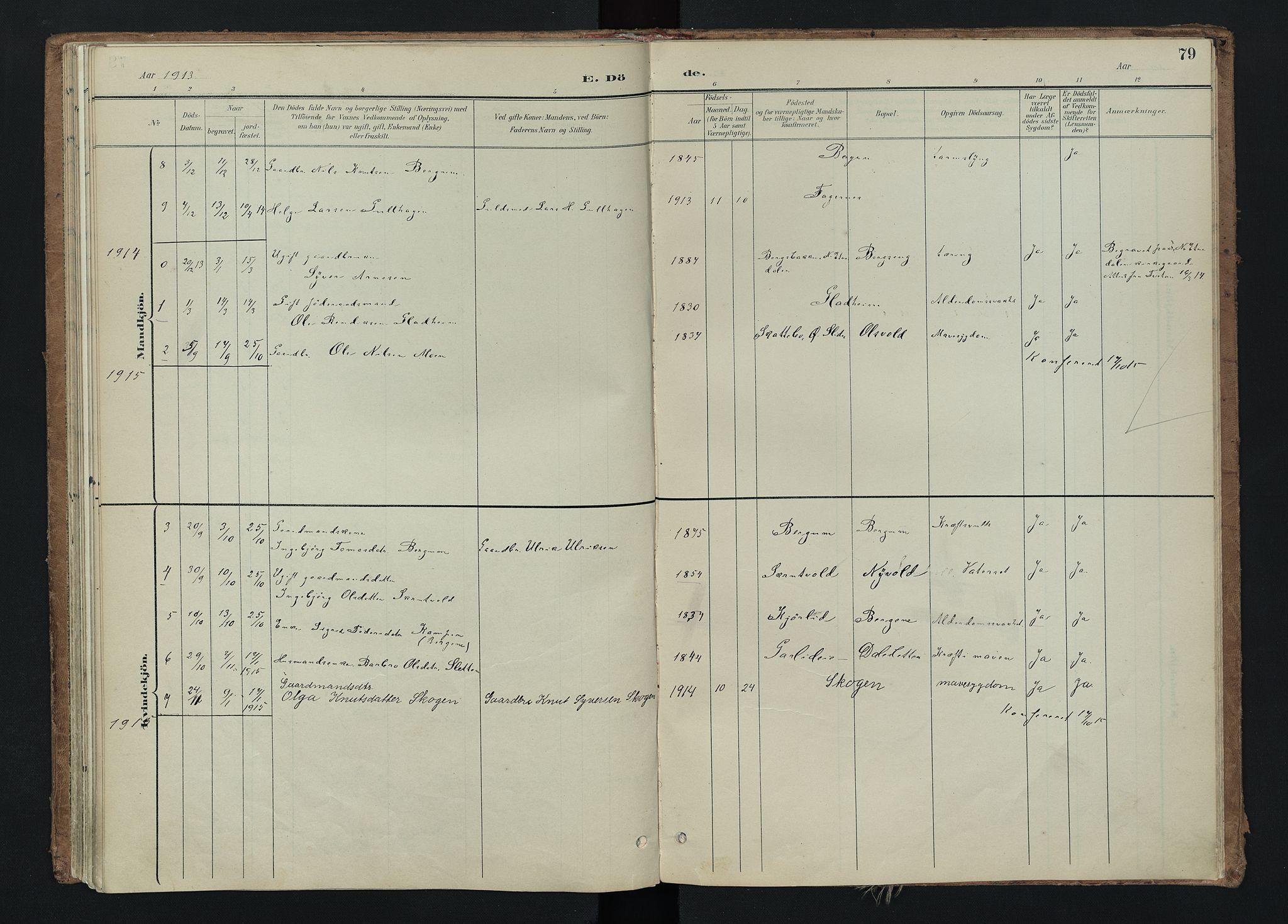 SAH, Nord-Aurdal prestekontor, Ministerialbok nr. 15, 1896-1914, s. 79