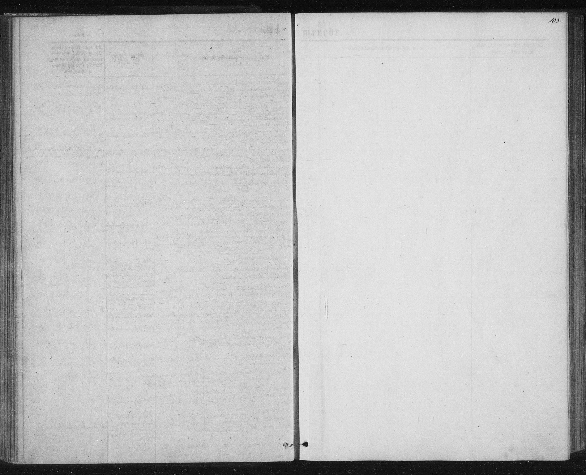 SAT, Ministerialprotokoller, klokkerbøker og fødselsregistre - Nord-Trøndelag, 768/L0570: Ministerialbok nr. 768A05, 1865-1874, s. 103