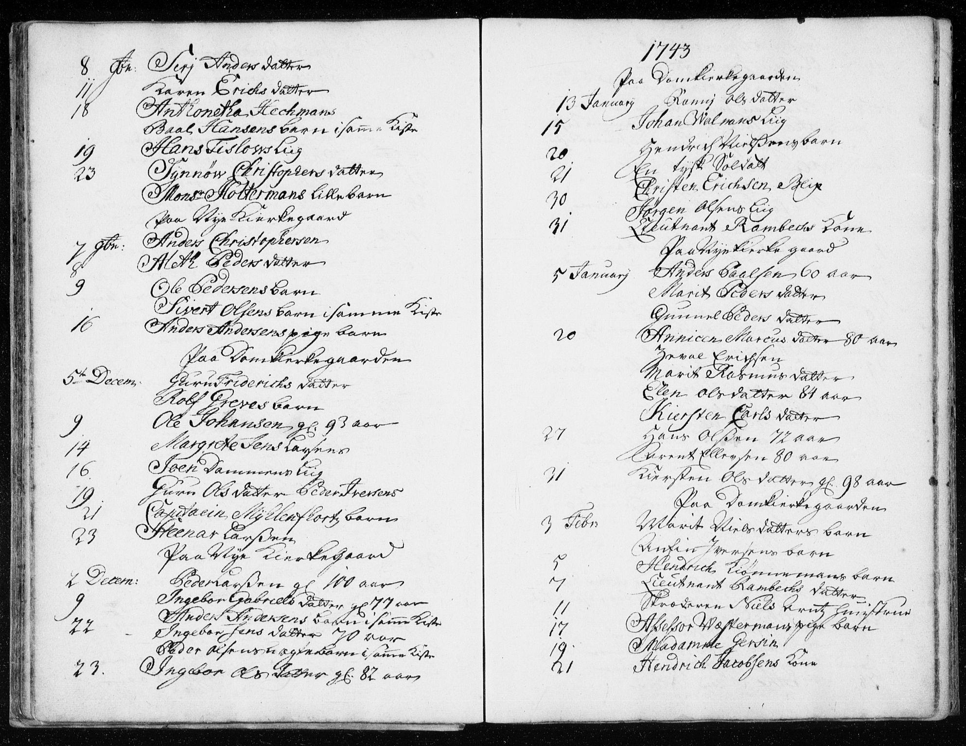 SAT, Ministerialprotokoller, klokkerbøker og fødselsregistre - Sør-Trøndelag, 601/L0037: Ministerialbok nr. 601A05, 1729-1761
