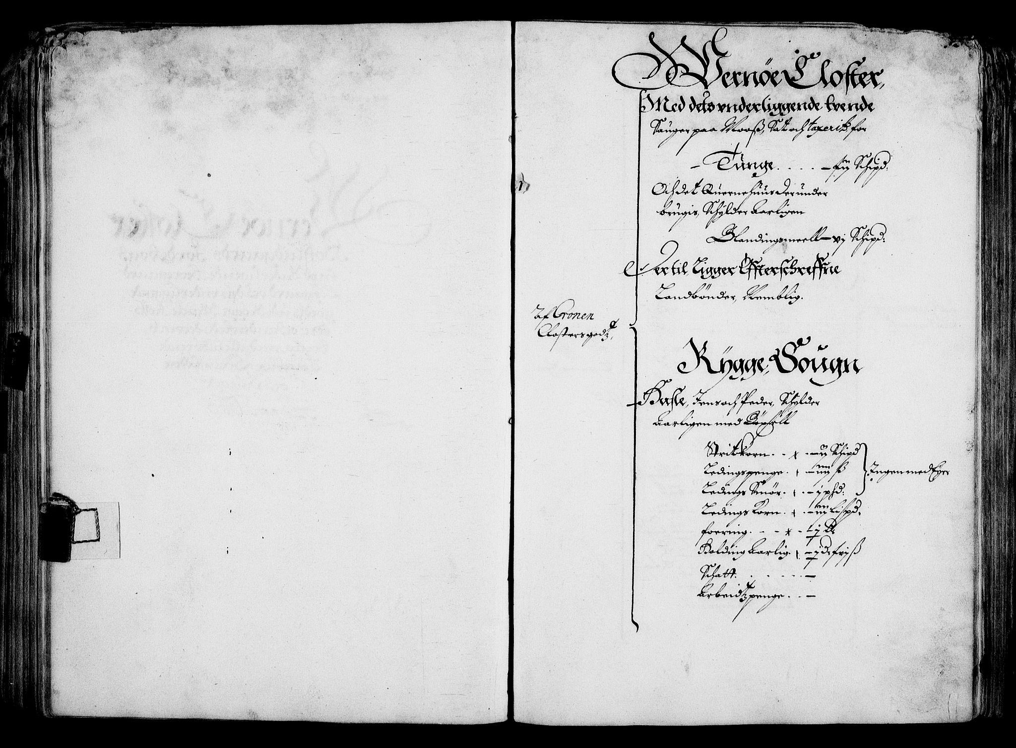 RA, Rentekammeret inntil 1814, Realistisk ordnet avdeling, On/L0001: Statens gods, 1651, s. 128
