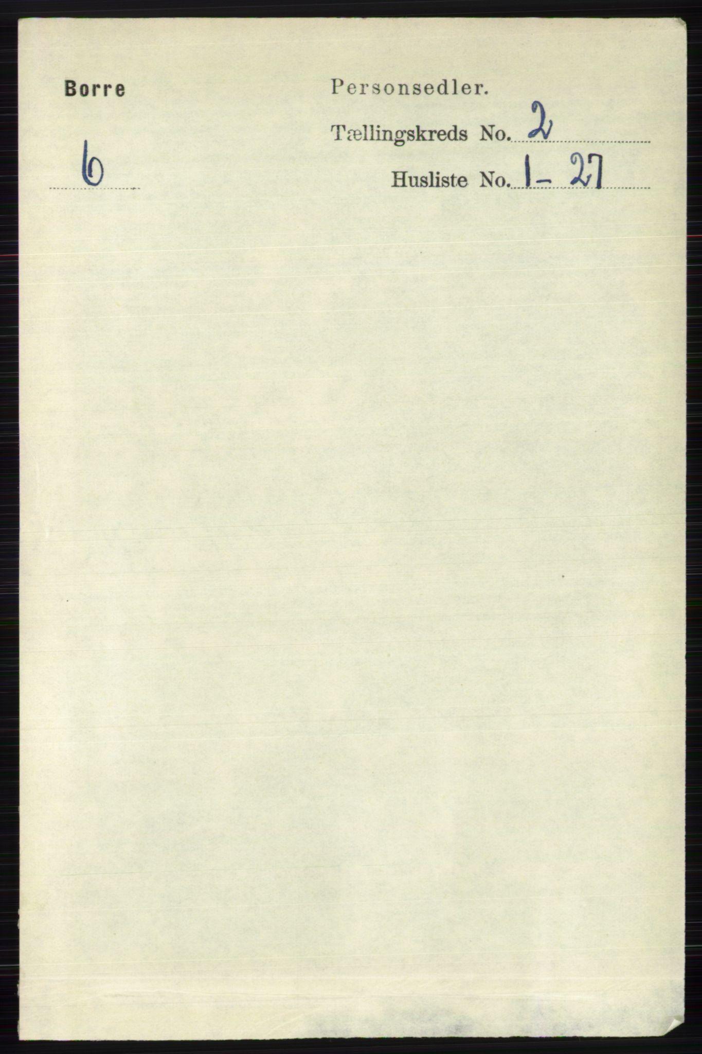 RA, Folketelling 1891 for 0717 Borre herred, 1891, s. 803