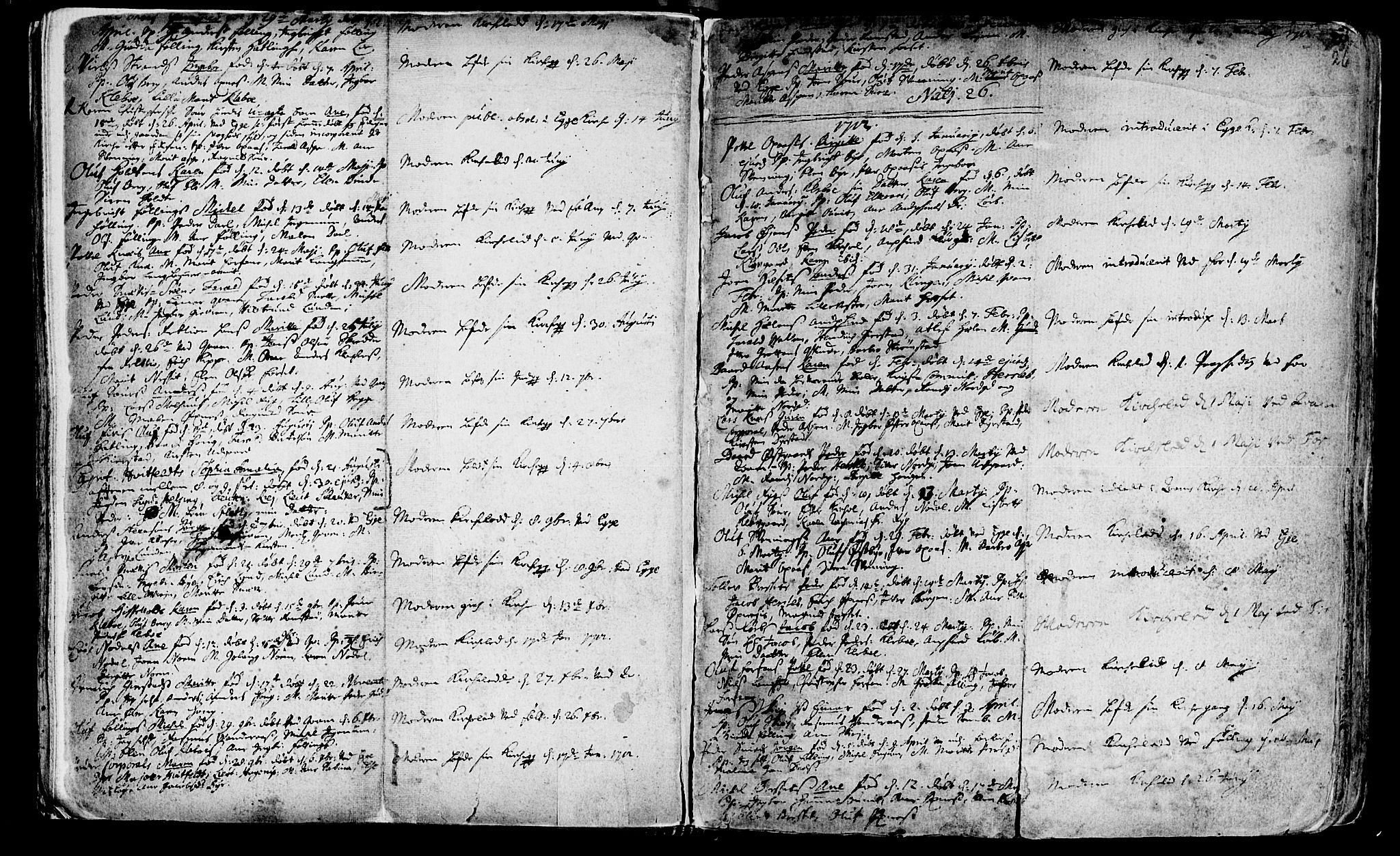 SAT, Ministerialprotokoller, klokkerbøker og fødselsregistre - Nord-Trøndelag, 746/L0439: Ministerialbok nr. 746A01, 1688-1759, s. 26
