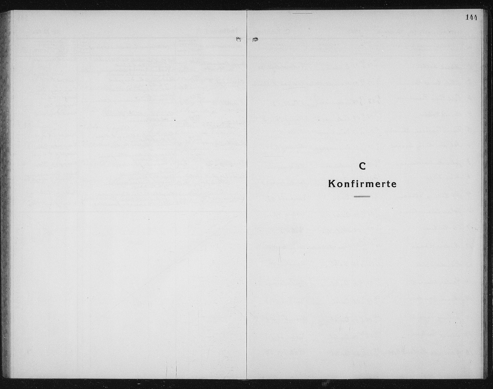 SAT, Ministerialprotokoller, klokkerbøker og fødselsregistre - Sør-Trøndelag, 604/L0227: Klokkerbok nr. 604C10, 1923-1942, s. 144