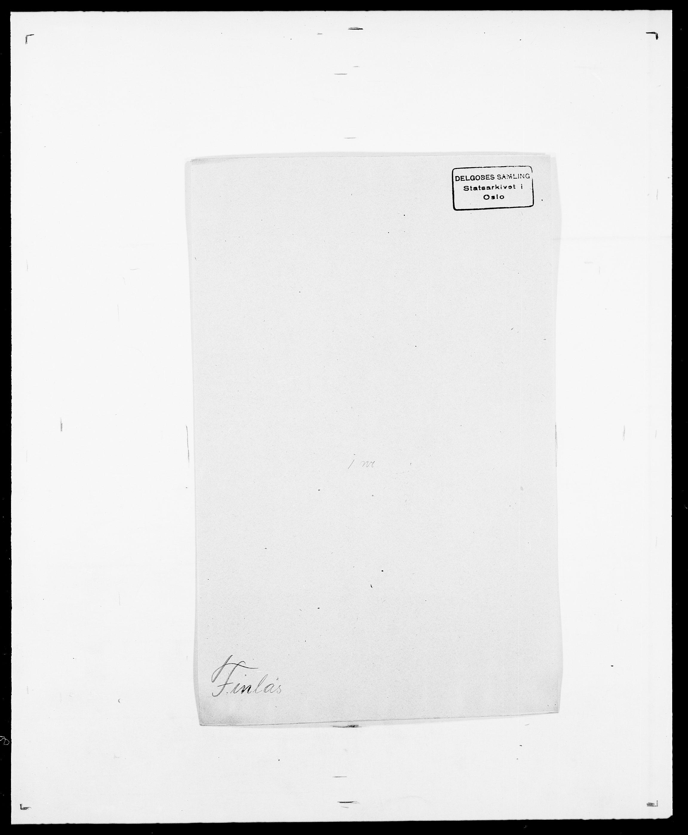 SAO, Delgobe, Charles Antoine - samling, D/Da/L0011: Fahlander - Flood, Flod, s. 488