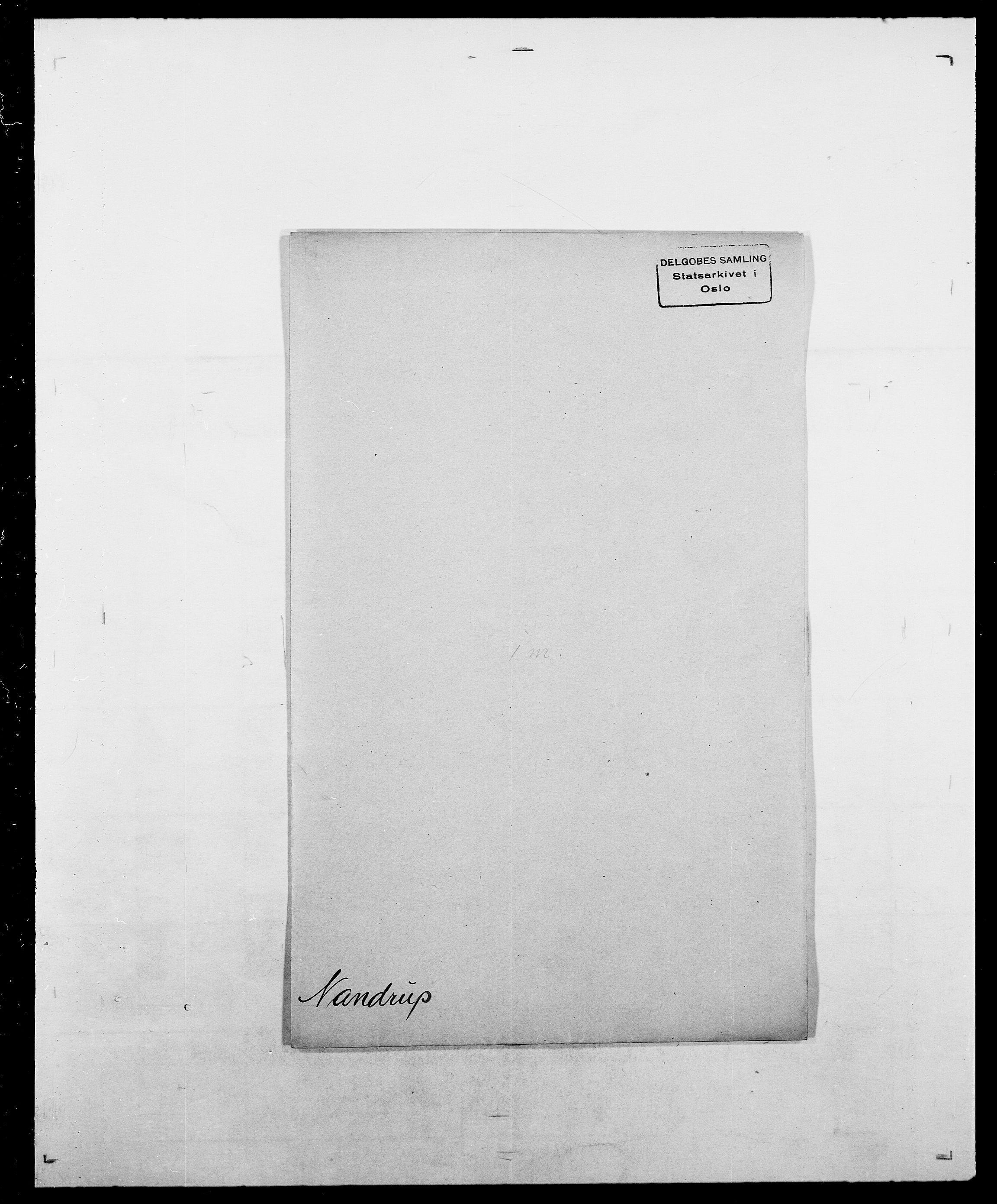 SAO, Delgobe, Charles Antoine - samling, D/Da/L0028: Naaden - Nøvik, s. 29
