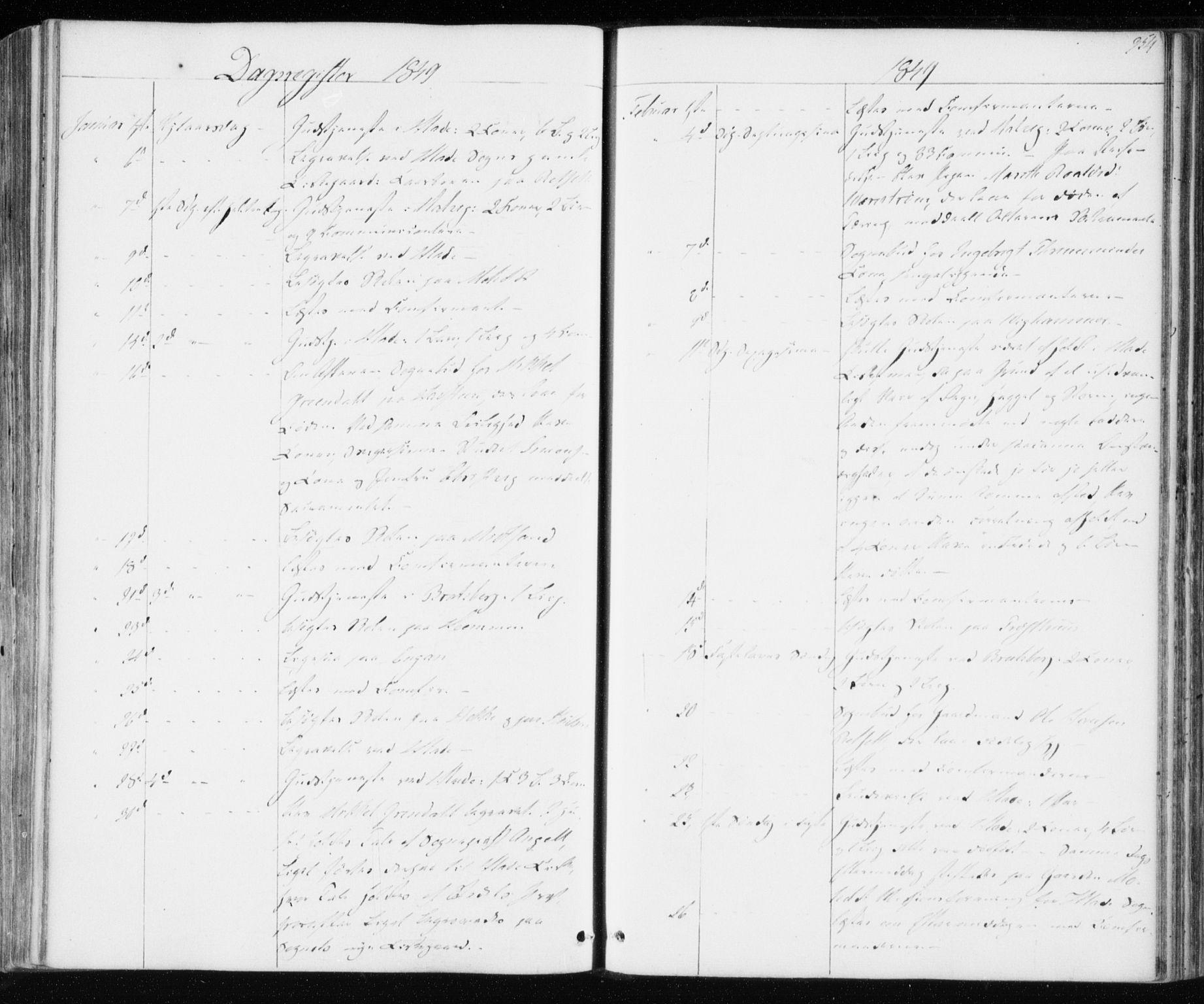 SAT, Ministerialprotokoller, klokkerbøker og fødselsregistre - Sør-Trøndelag, 606/L0291: Ministerialbok nr. 606A06, 1848-1856, s. 354