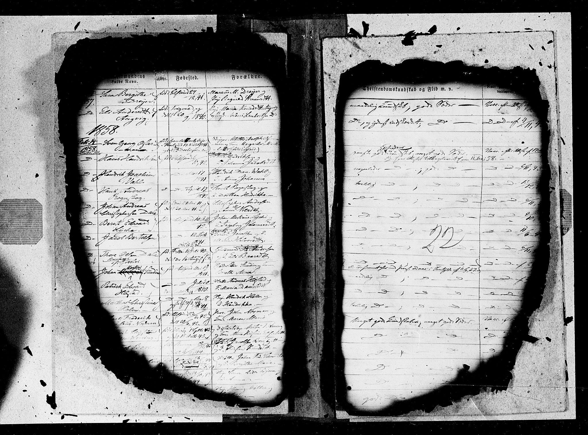 SAT, Ministerialprotokoller, klokkerbøker og fødselsregistre - Møre og Romsdal, 572/L0846: Ministerialbok nr. 572A09, 1855-1865, s. 22