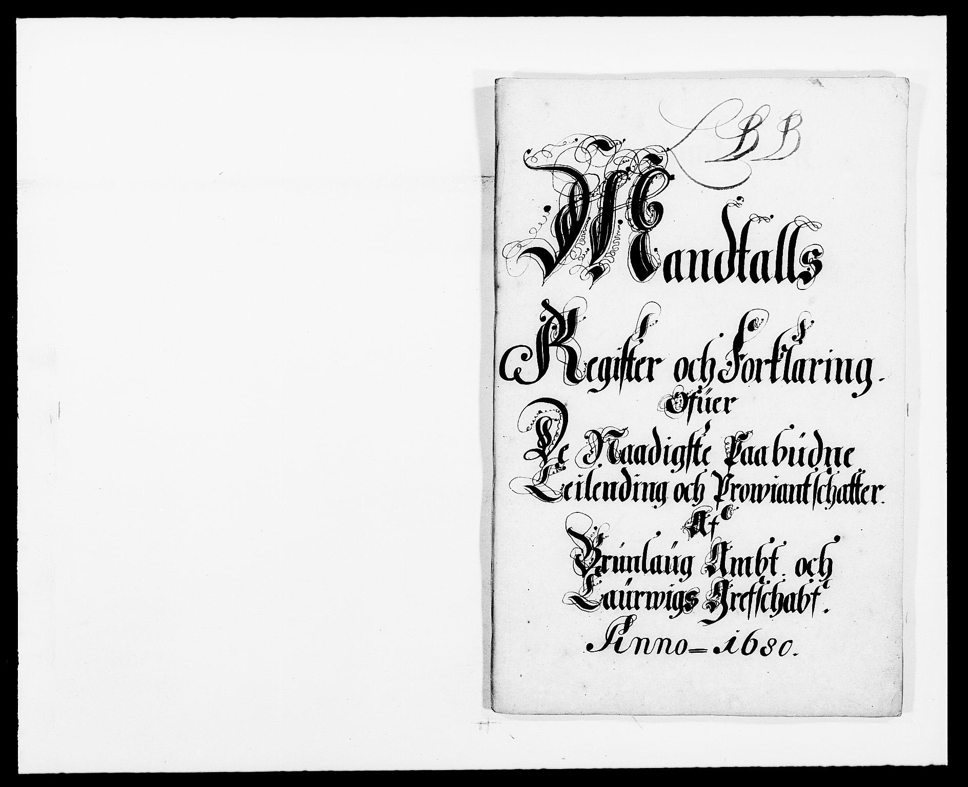 RA, Rentekammeret inntil 1814, Reviderte regnskaper, Fogderegnskap, R33/L1968: Fogderegnskap Larvik grevskap, 1675-1687, s. 342
