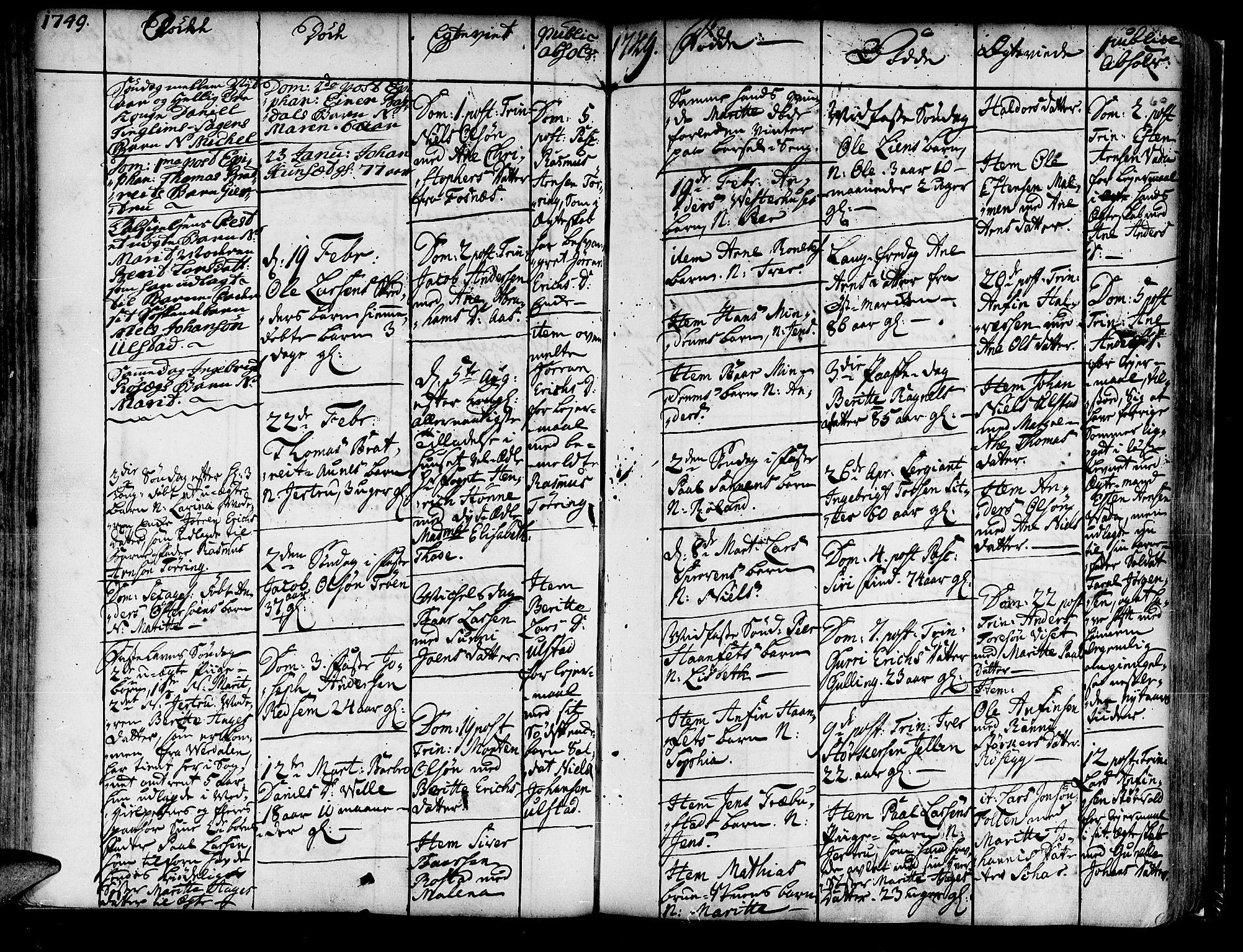SAT, Ministerialprotokoller, klokkerbøker og fødselsregistre - Nord-Trøndelag, 741/L0385: Ministerialbok nr. 741A01, 1722-1815, s. 60