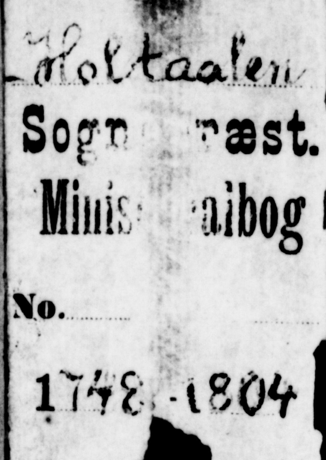SAT, Ministerialprotokoller, klokkerbøker og fødselsregistre - Sør-Trøndelag, 685/L0952: Ministerialbok nr. 685A01, 1745-1804