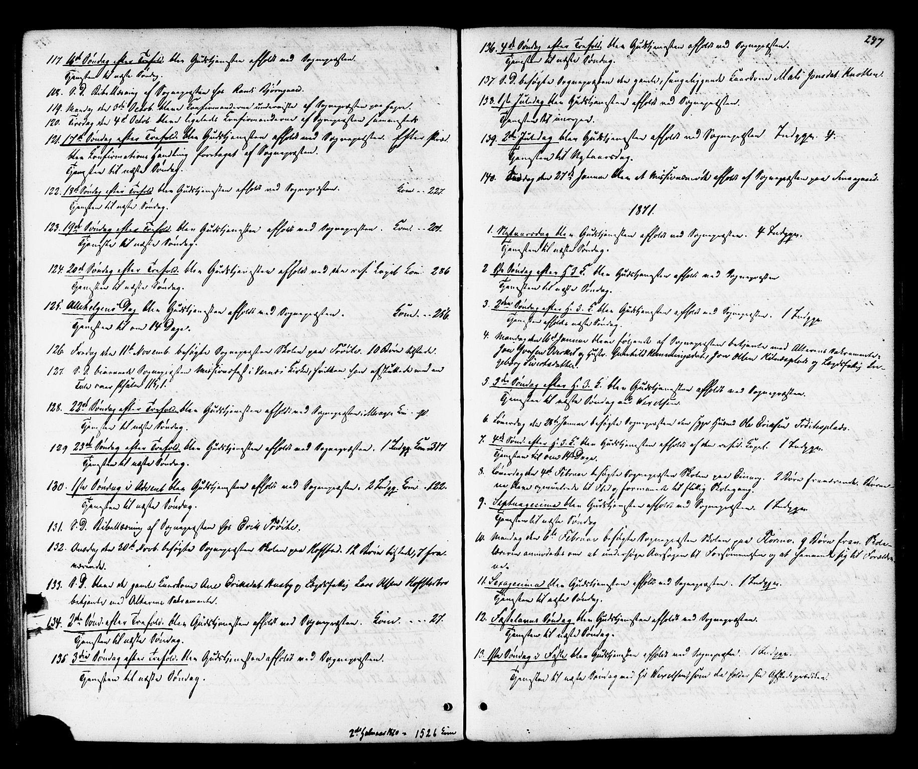 SAT, Ministerialprotokoller, klokkerbøker og fødselsregistre - Nord-Trøndelag, 703/L0029: Ministerialbok nr. 703A02, 1863-1879, s. 247