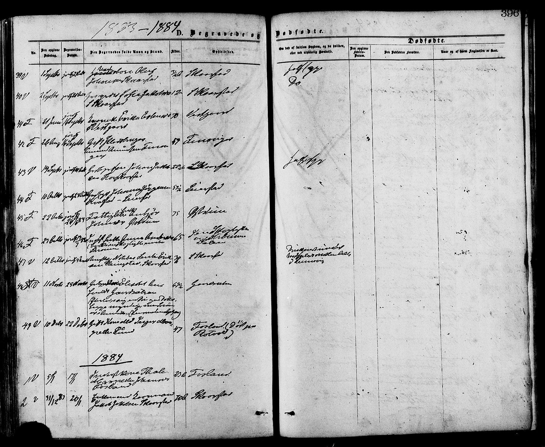 SAT, Ministerialprotokoller, klokkerbøker og fødselsregistre - Nord-Trøndelag, 773/L0616: Ministerialbok nr. 773A07, 1870-1887, s. 396