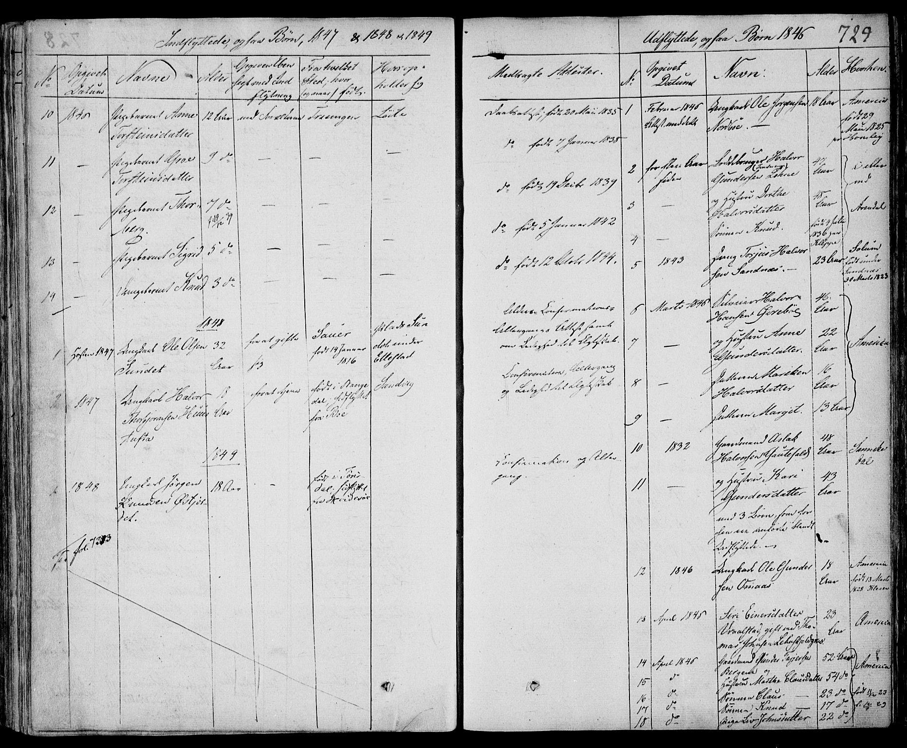 SAKO, Drangedal kirkebøker, F/Fa/L0007b: Ministerialbok nr. 7b, 1837-1856, s. 729