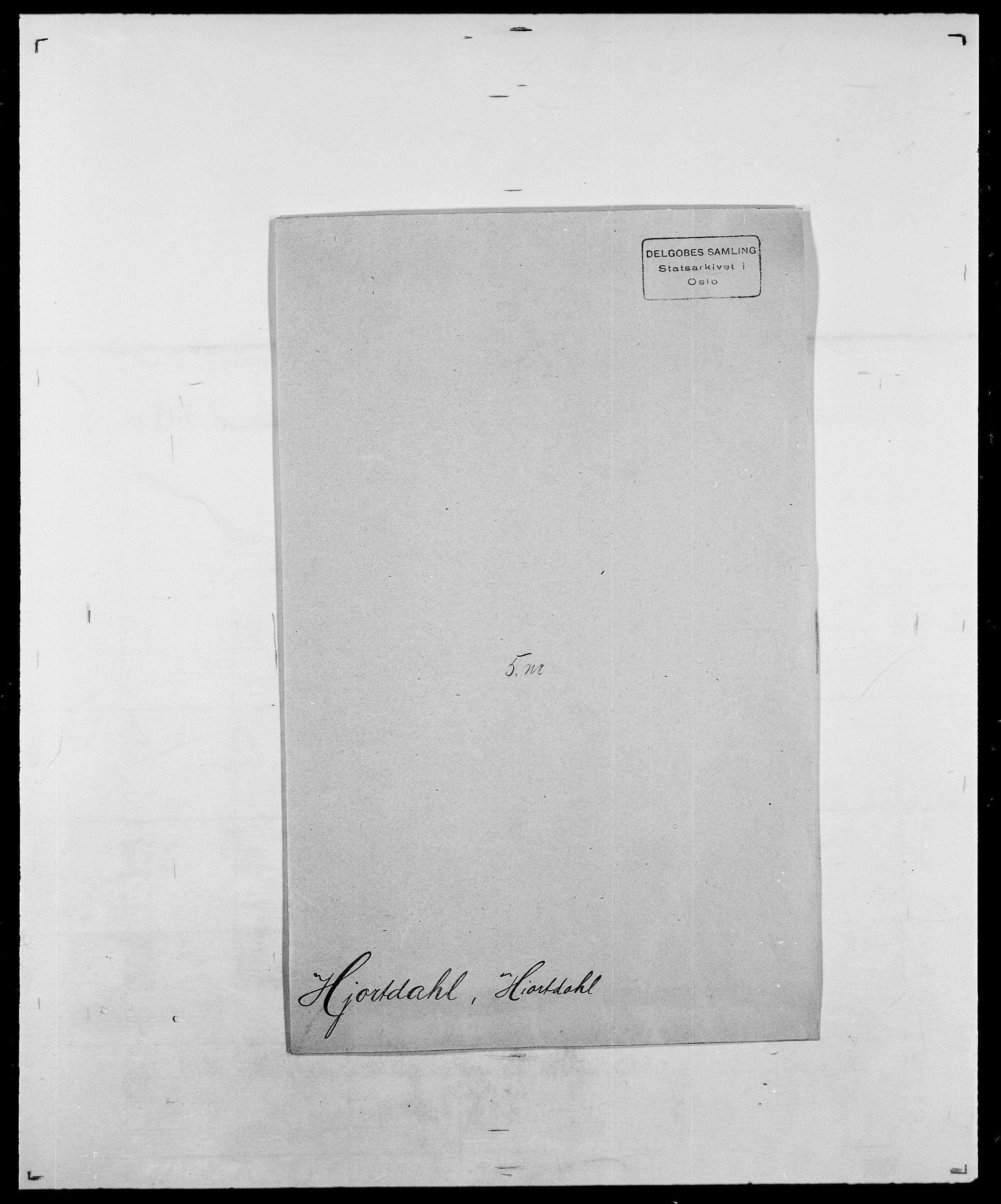 SAO, Delgobe, Charles Antoine - samling, D/Da/L0017: Helander - Hjørne, s. 630