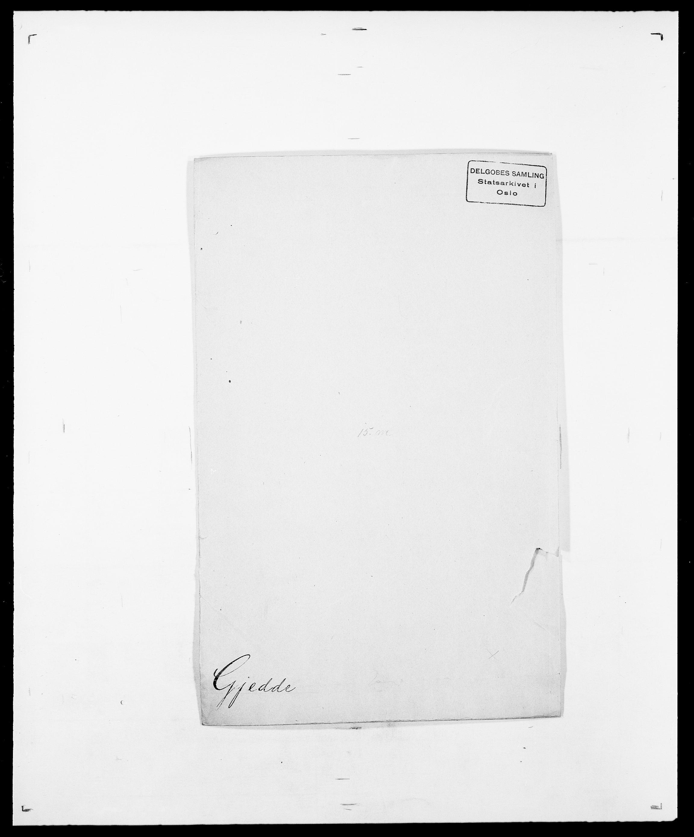 SAO, Delgobe, Charles Antoine - samling, D/Da/L0014: Giebdhausen - Grip, s. 68