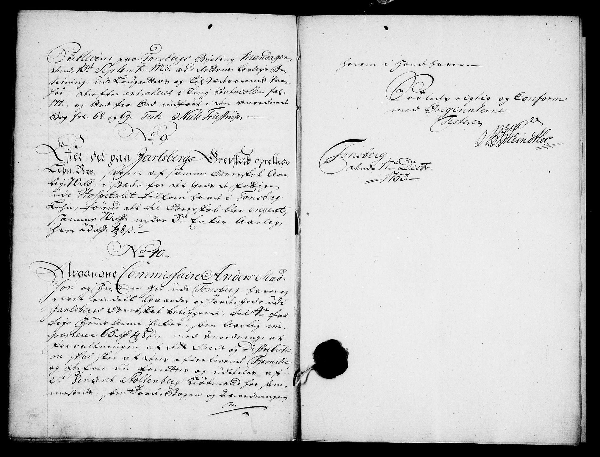 RA, Danske Kanselli, Skapsaker, G/L0019: Tillegg til skapsakene, 1616-1753, s. 375