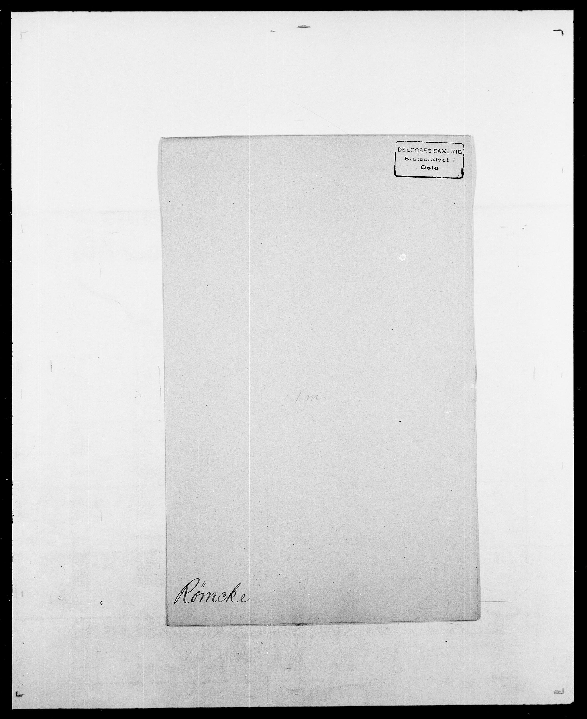 SAO, Delgobe, Charles Antoine - samling, D/Da/L0033: Roald - Røyem, s. 713